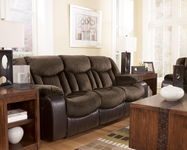 Tafton Java Reclining Living Room Set From Ashley 79202