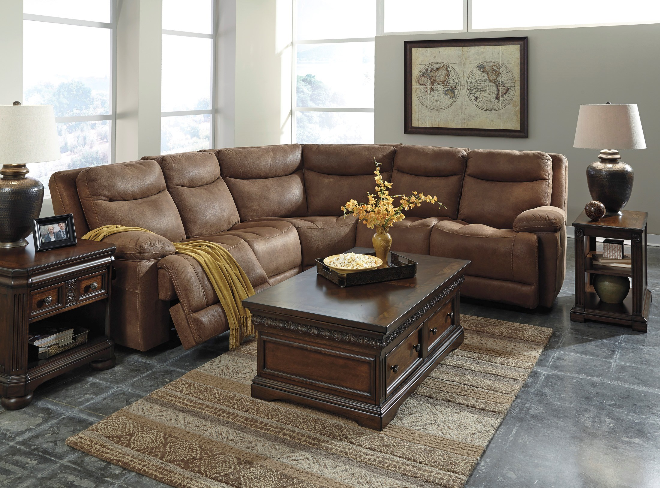 Valto Saddle Reclining Sectional from Ashley