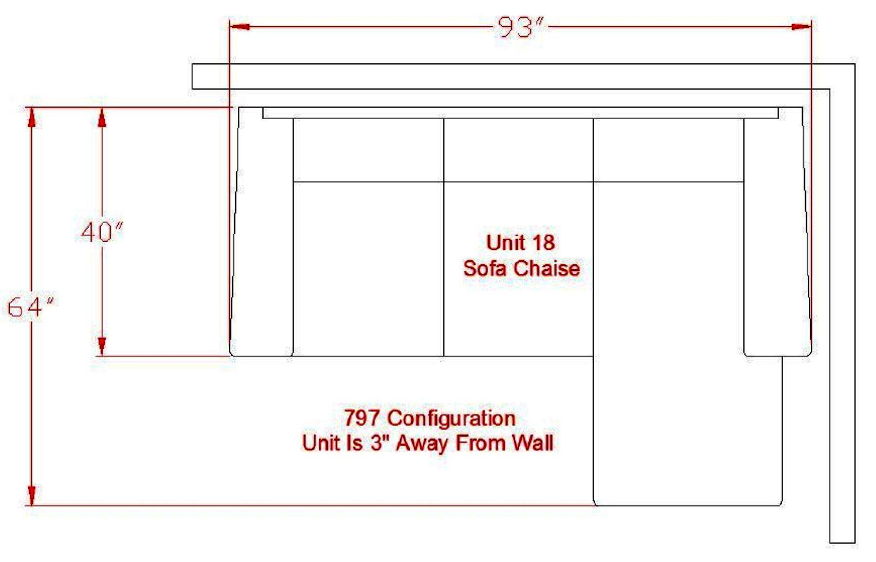 Hodan sofa chaise dimensions refil sofa for Chaise dimensions