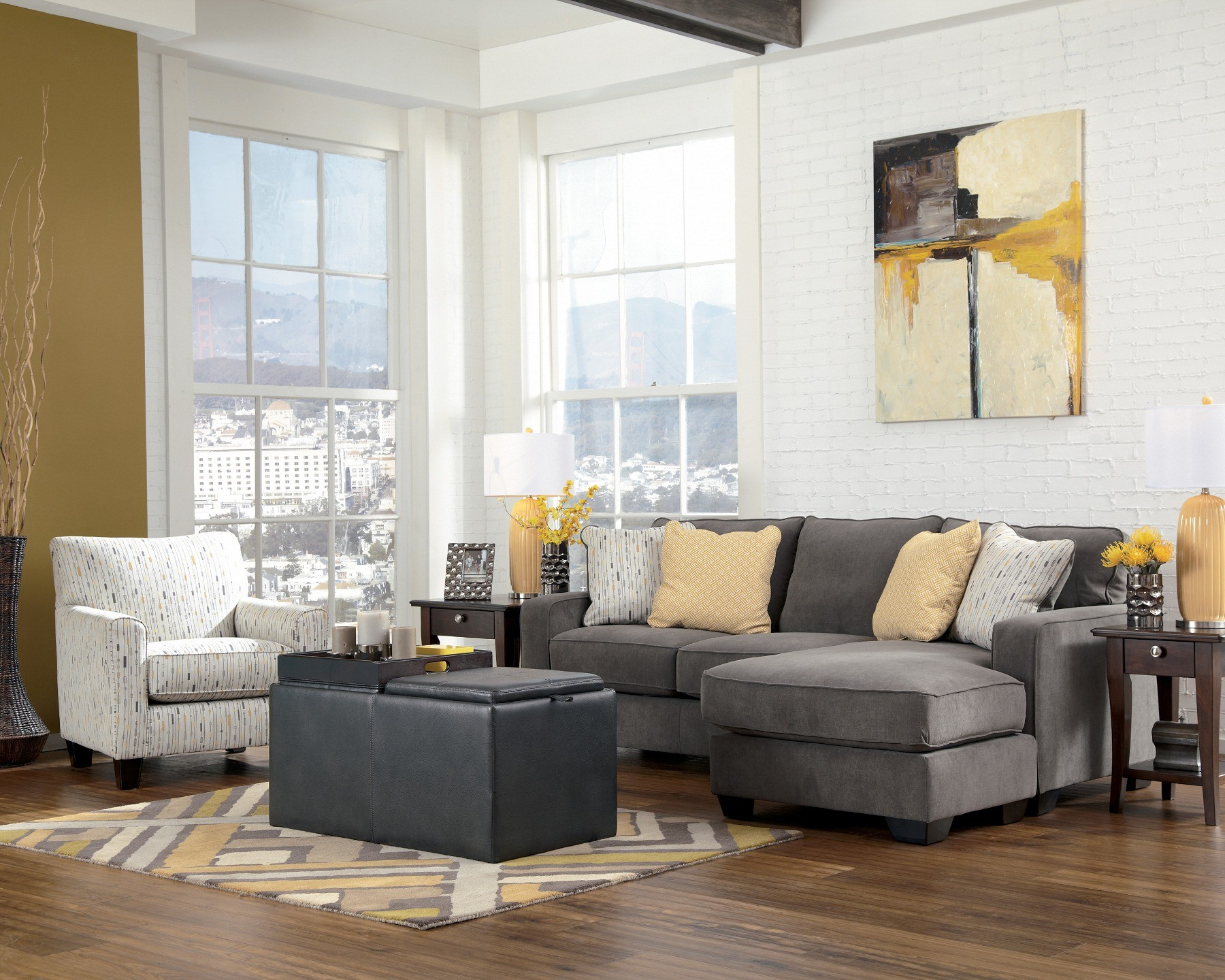 Hodan Marble Living Room Set from Ashley (79700)   Coleman Furniture