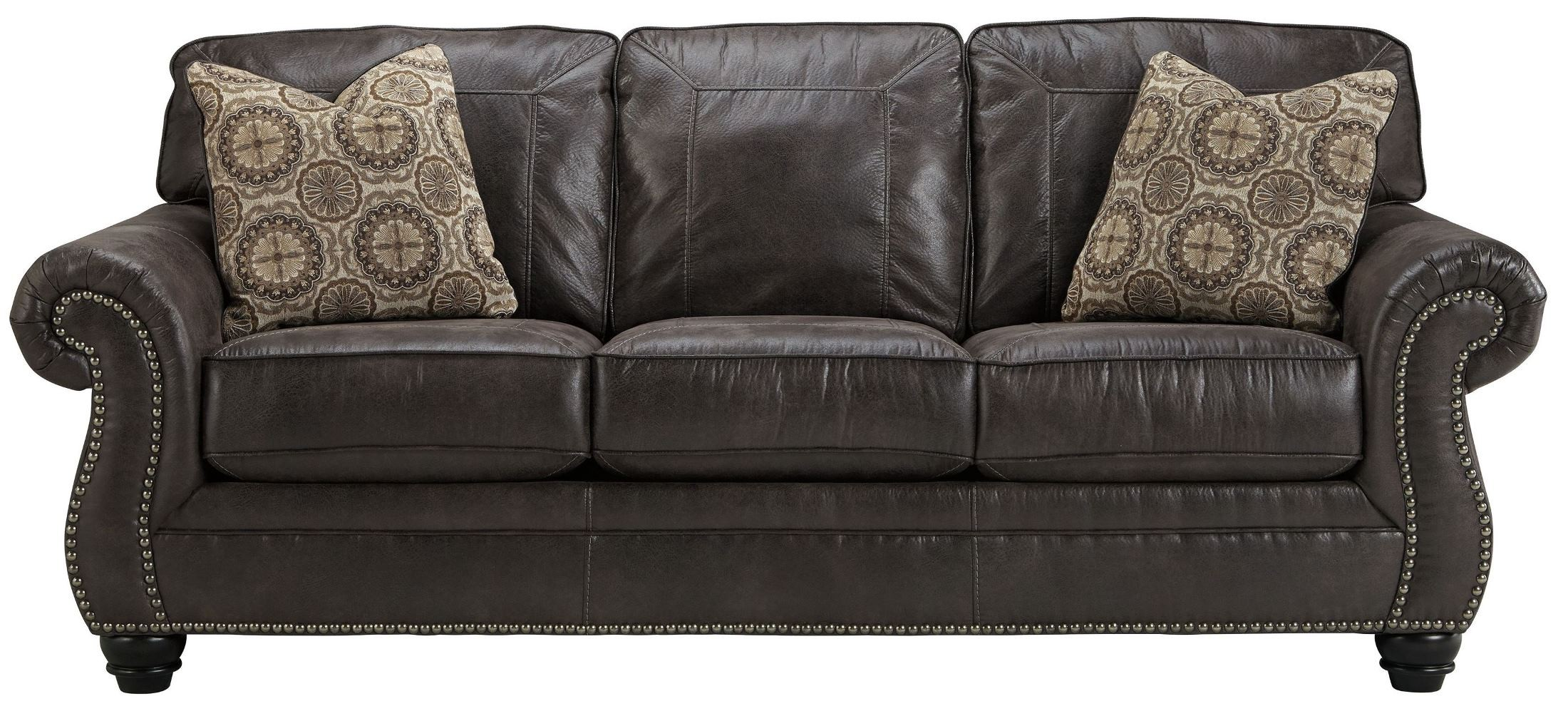 Breville Charcoal Living Room Set from Ashley 38 35