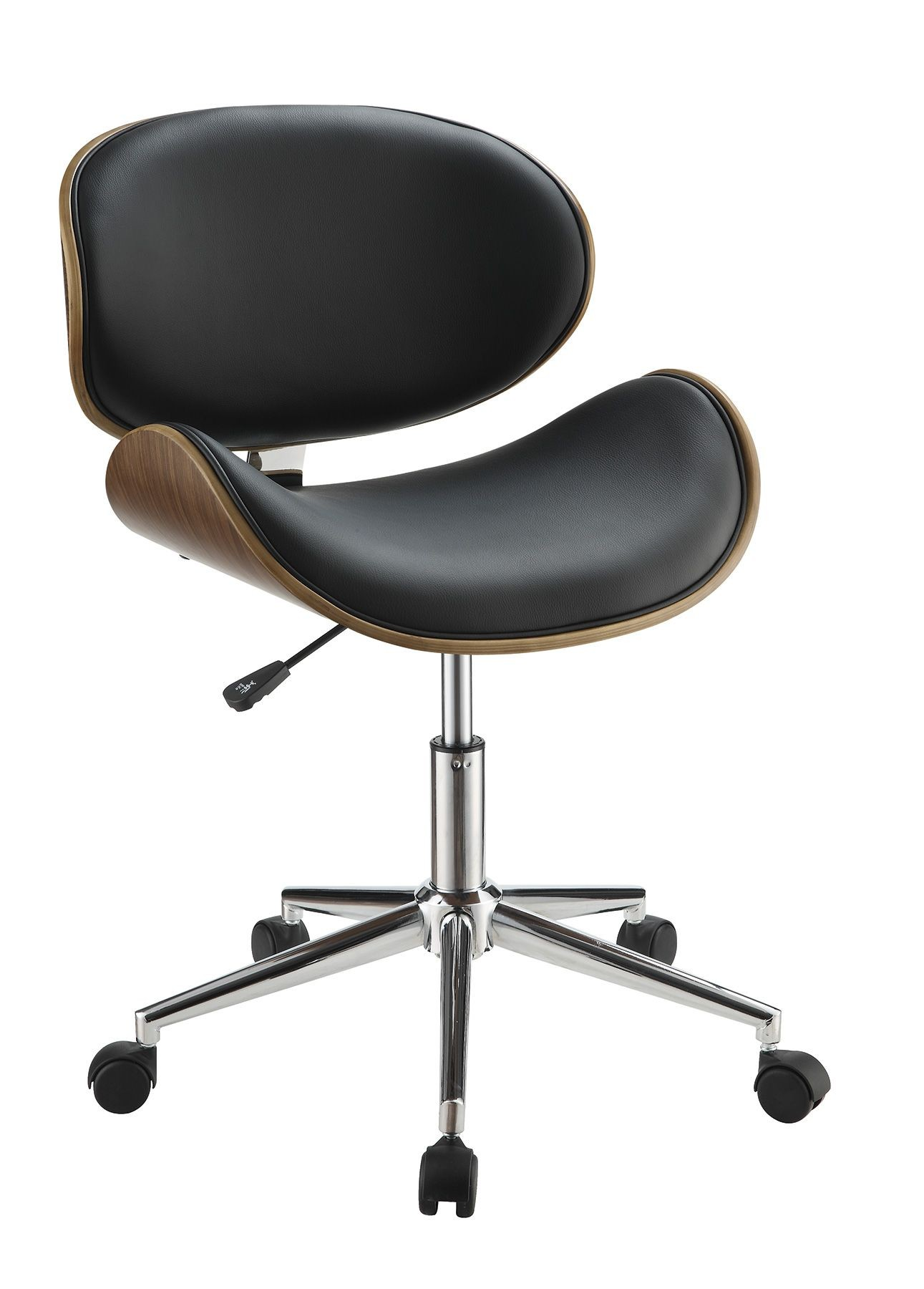 800614 Black Office Chair From Coaster 800614 Coleman