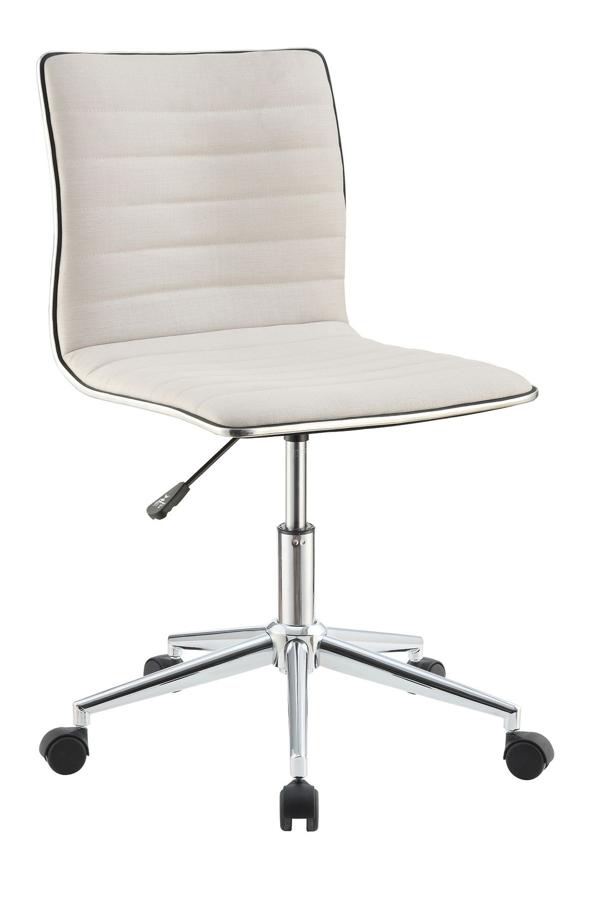 800726 cream office chair from coaster 800726 coleman for Cream office chair
