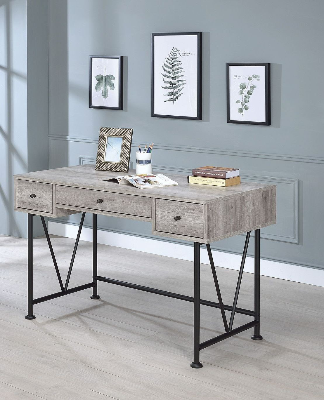 Guthrie Gray Driftwood Writing Desk From Coaster  Coleman. Drawer Gun Safe Biometric. Writing Desk With Drawer. 60 Inch Console Table. Pull Out Drawers For Kitchen Cabinets. Easter Table Decor. Desk Organizer Target. White Full Size Loft Bed With Desk. Cabinet Drawer Pulls