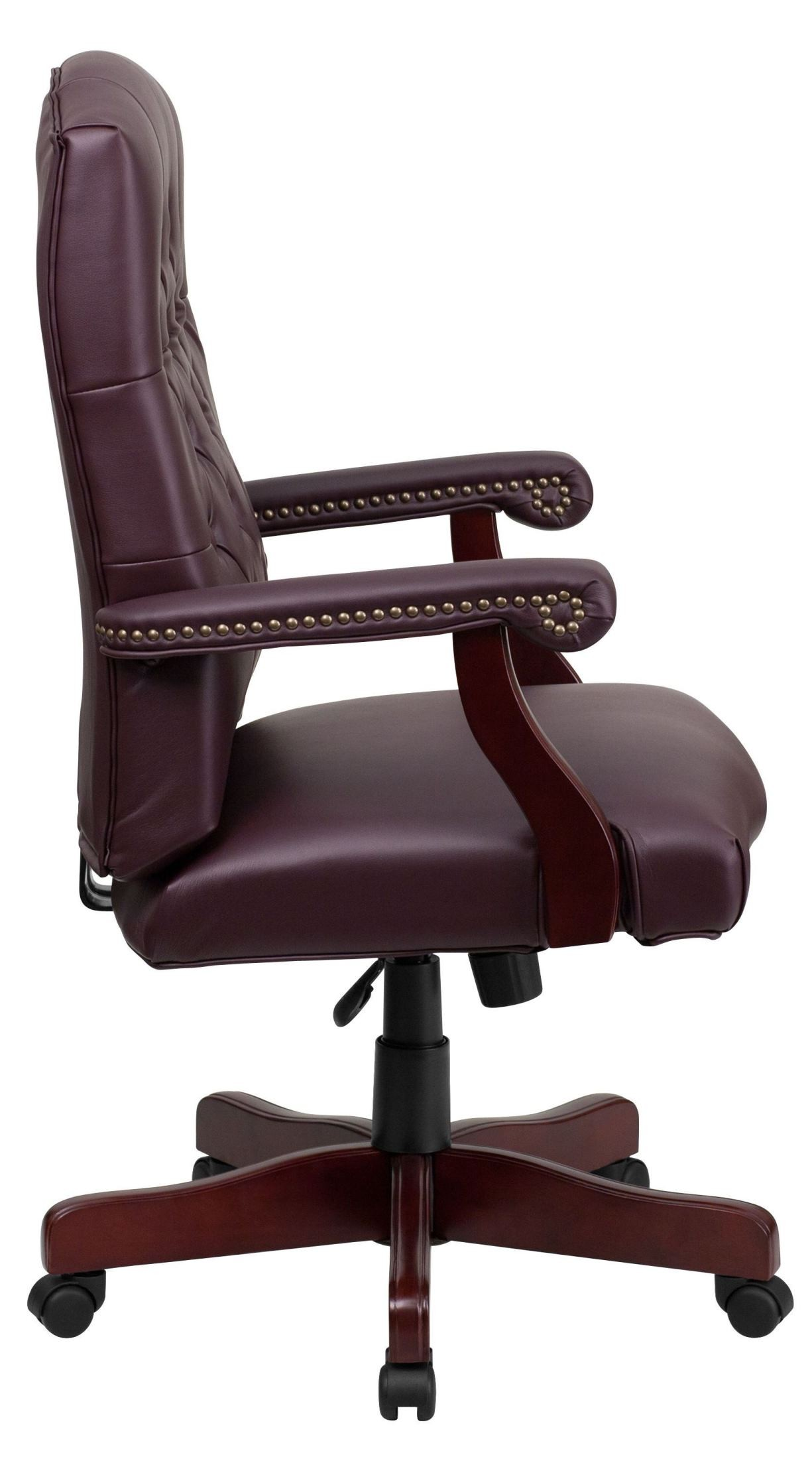 1000145 Martha Washington Bonded Leather Executive Swivel
