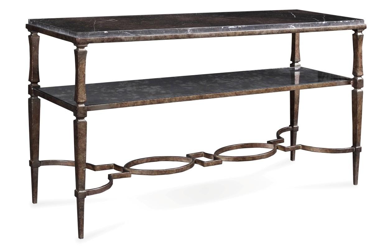 Marni metal sofa table from art 803307 1227 coleman for 5 sofa table