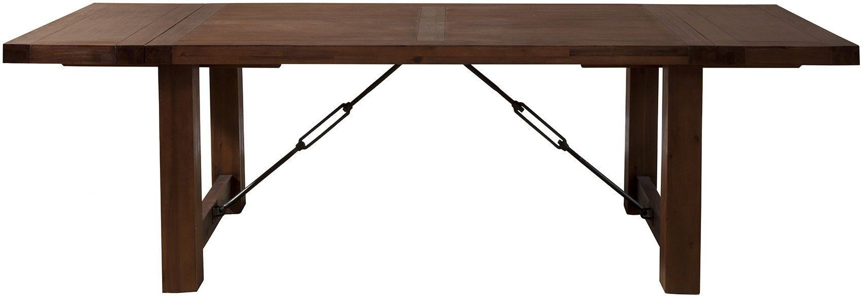 Pierre Cappuccino Dining Table From Alpine Coleman Furniture