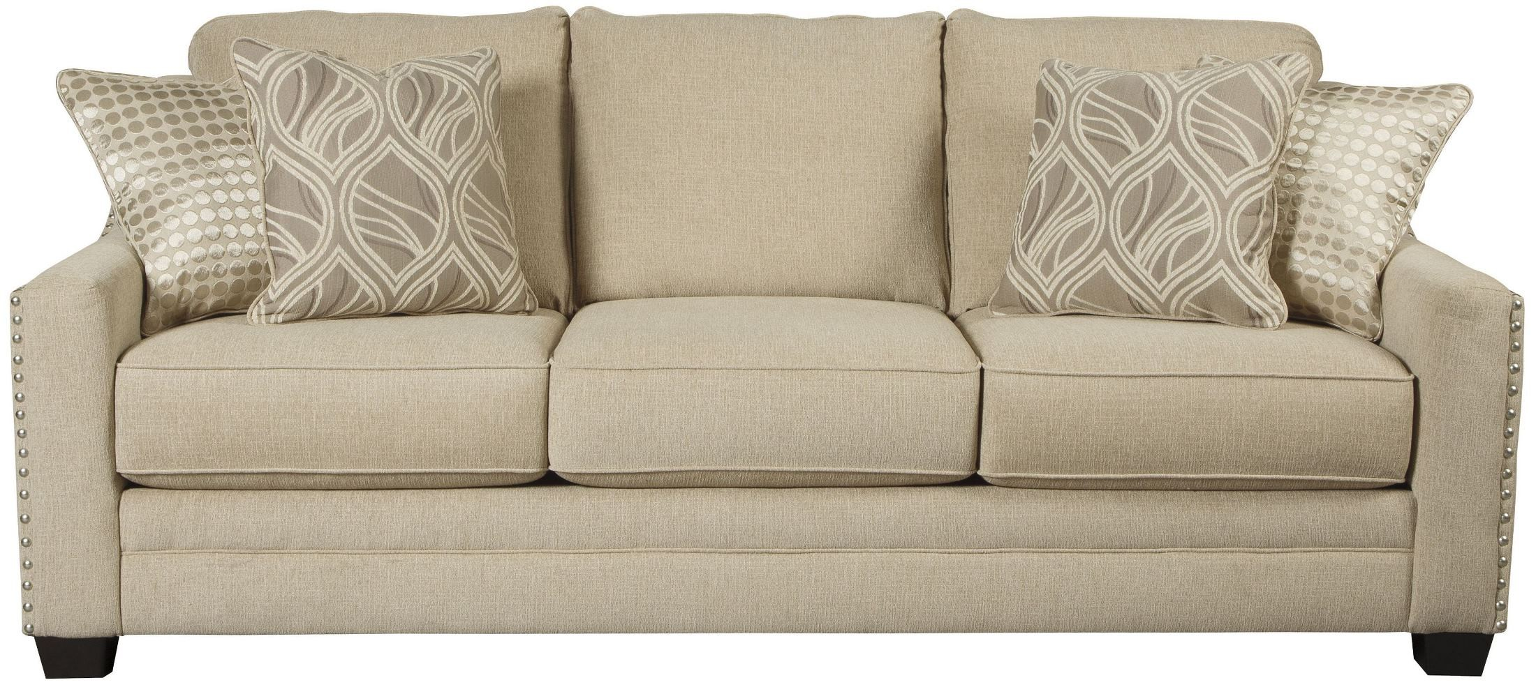 Mauricio Linen Sofa From Ashley 8160138 Coleman Furniture