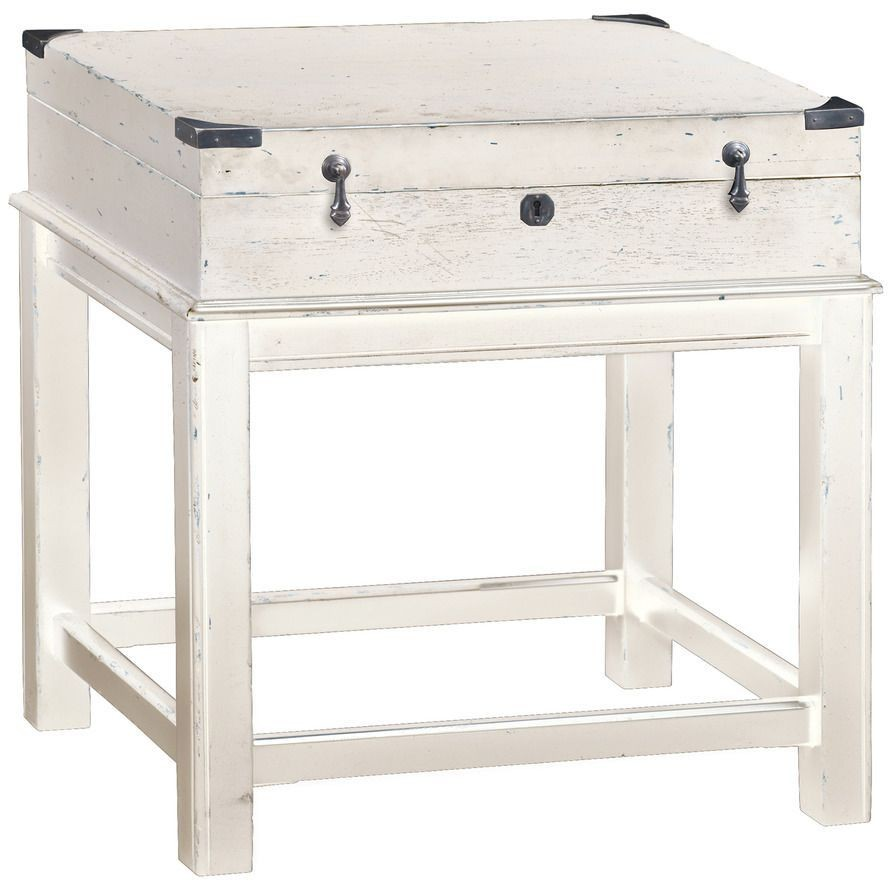 Driftwood Box On Stand From Hekman Furniture Coleman
