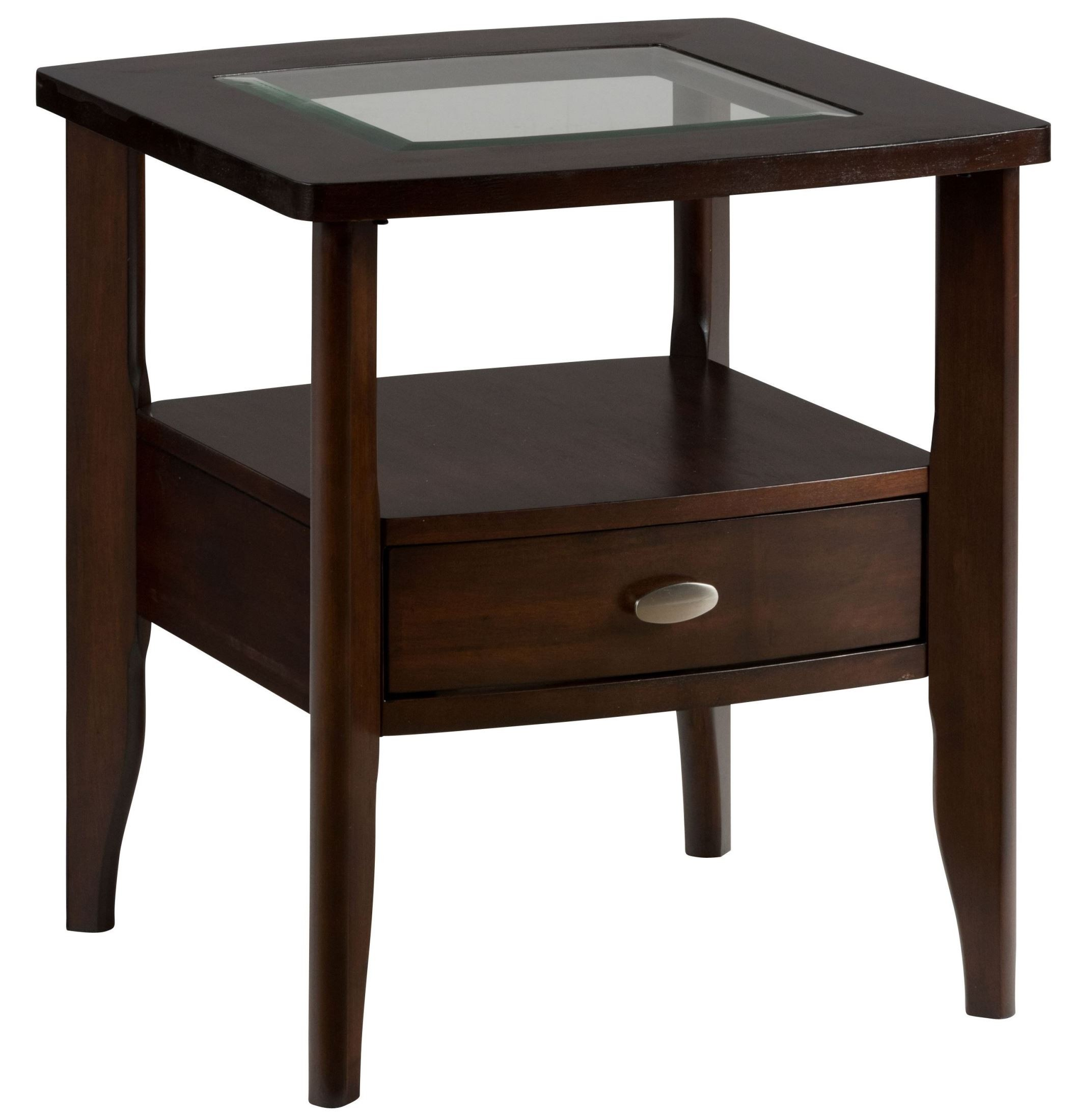 Montego Merlot End Table From Jofran