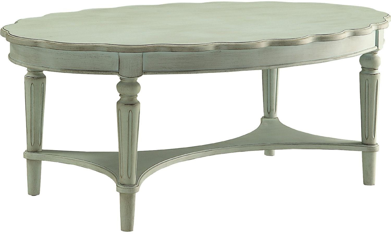 Fordon Antique Green Coffee Table from Acme | Coleman Furniture