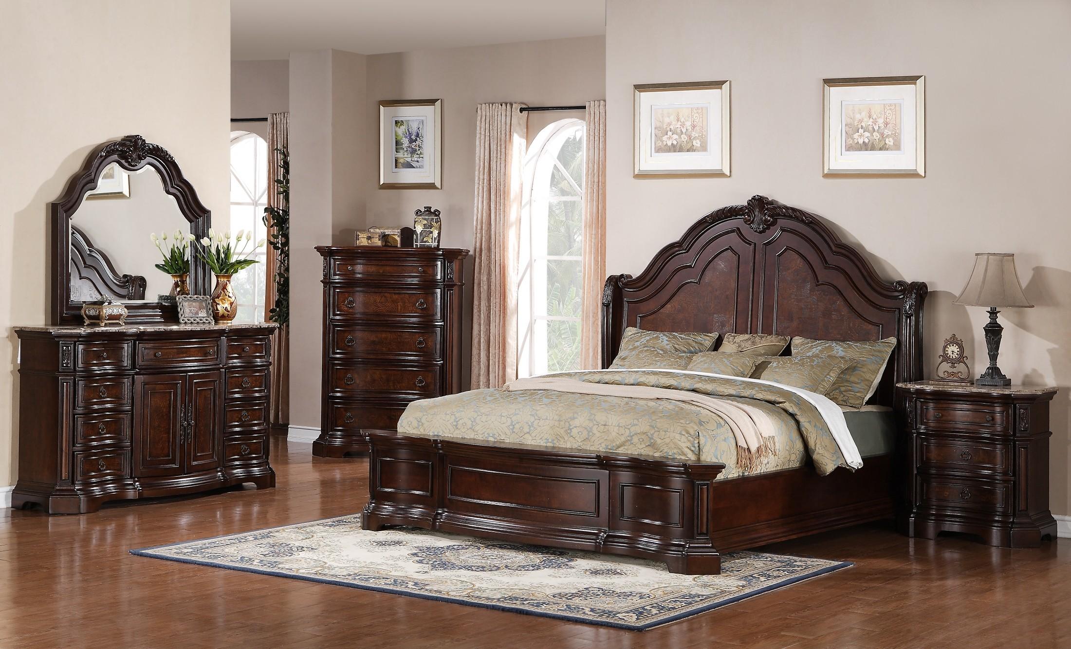 catalouge adorable king california cherry silver furniture wood dark sets set bedroom used