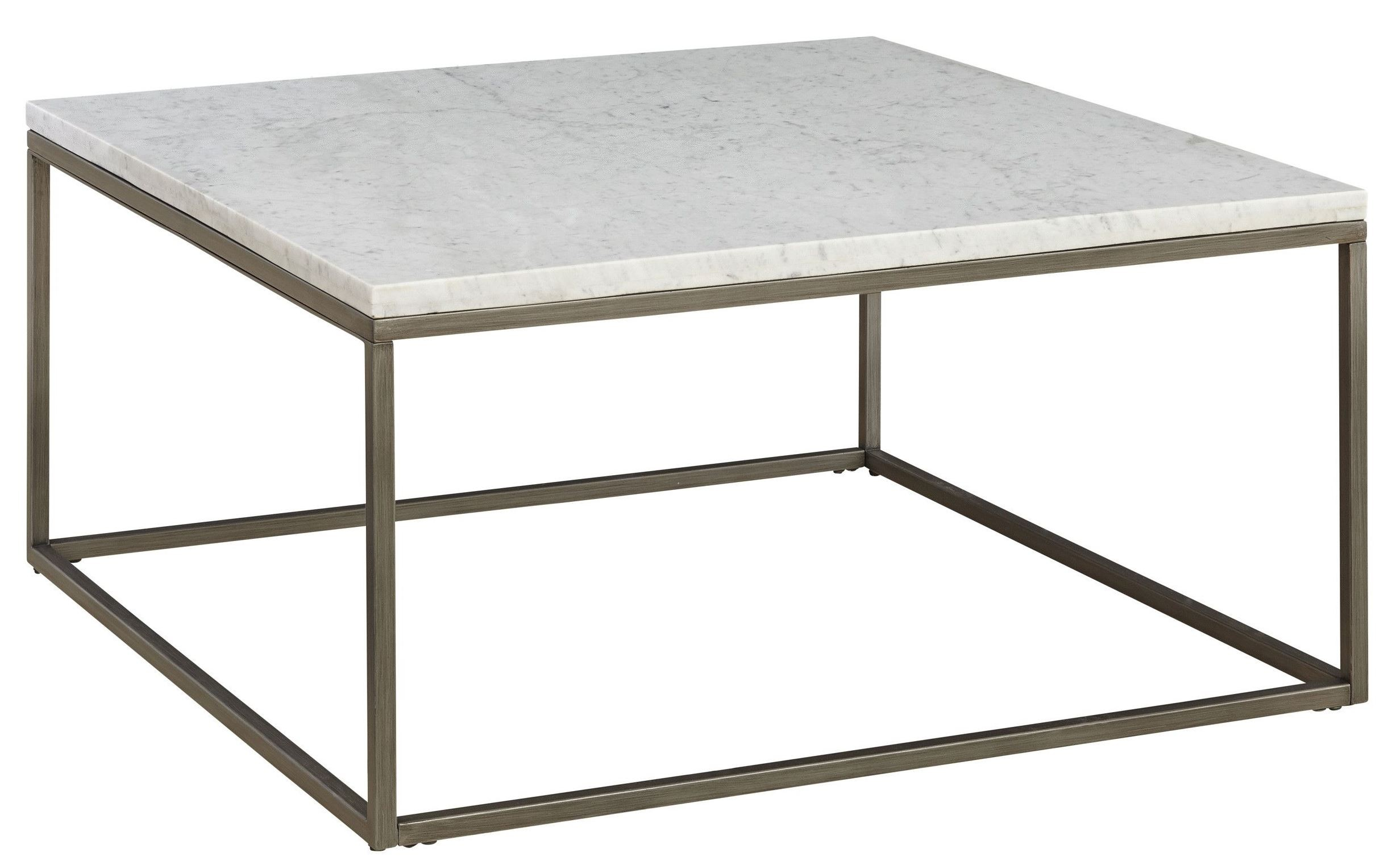Alana acacia marble top square coffee table from casana coleman furniture Coffee tables with marble tops