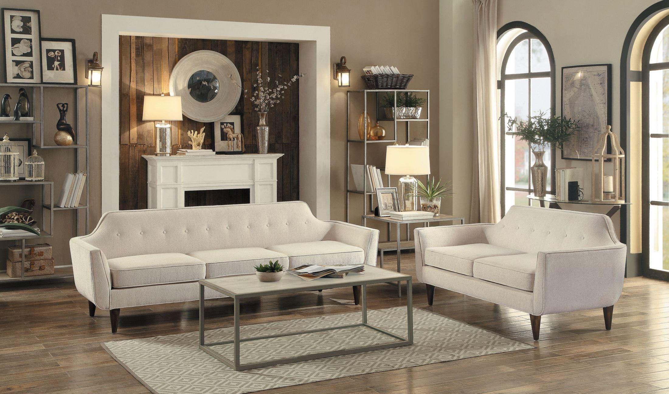 Ajani Beige Living Room Set From Homelegance Coleman