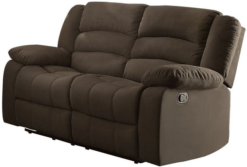 Greenville Brown Double Reclining Living Room Set From Homelegance Coleman Furniture