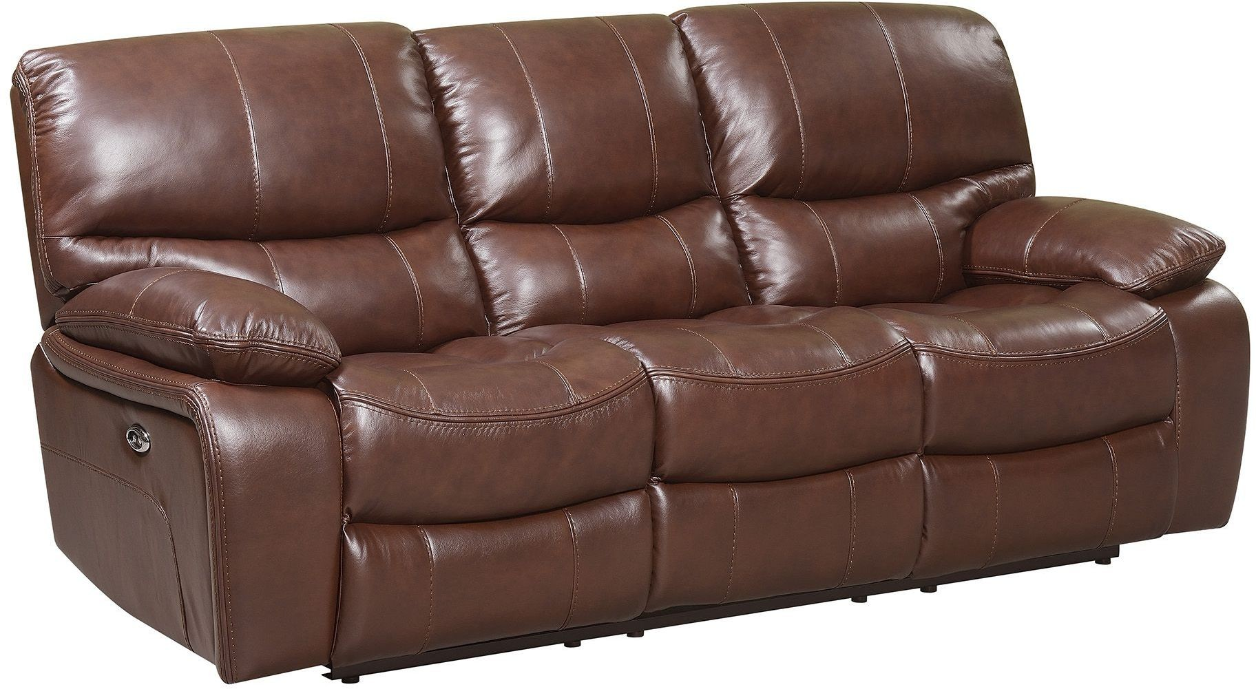 recliner reclining flexsteel mysticpower sofa with threshold width leather height trim power mystic item products latitudes