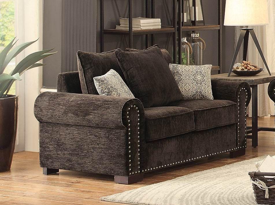 Wandal Brown Living Room Set From Homelegance Coleman Furniture