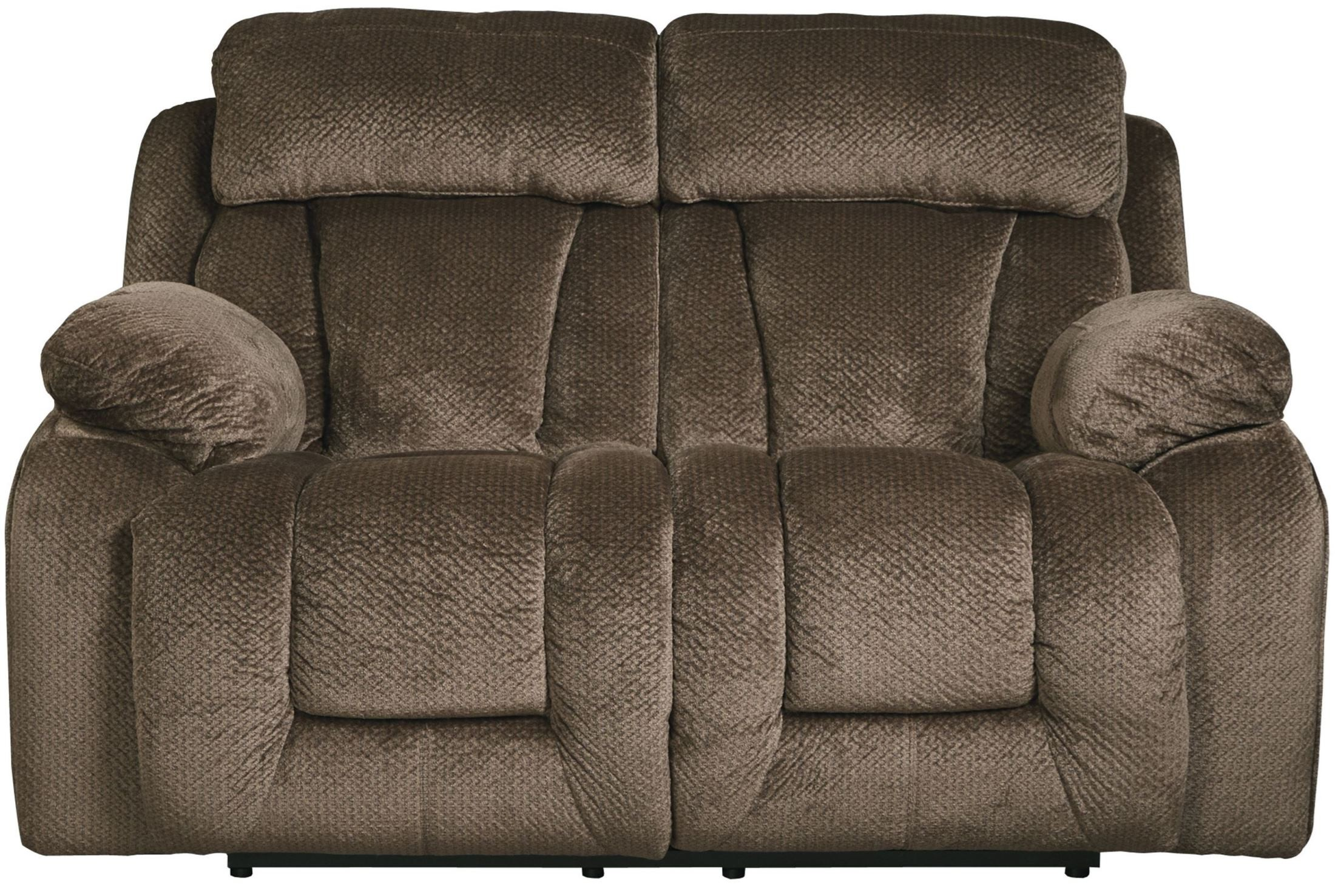 Stricklin Brown Reclining Loveseat From Ashley 8650386 Coleman Furniture