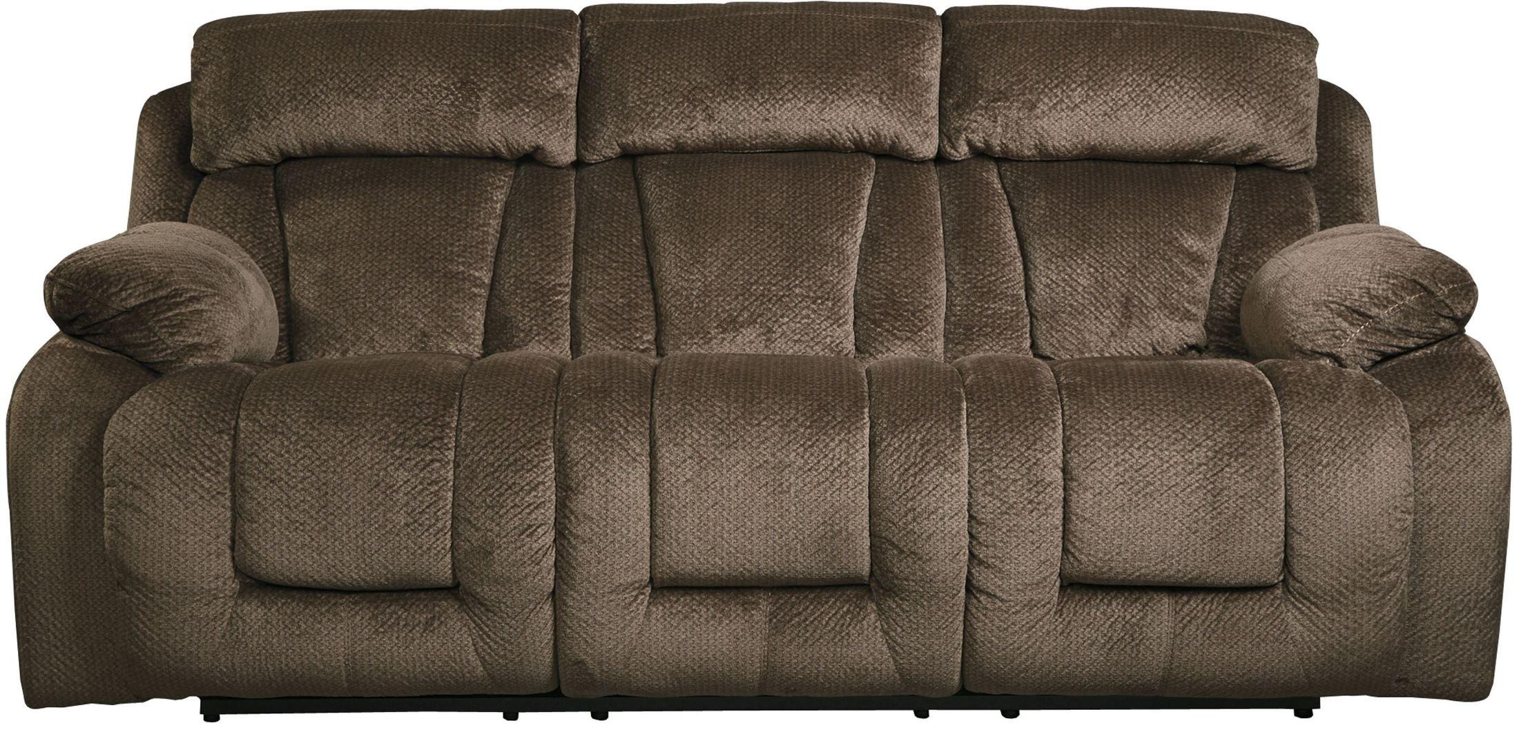 Stricklin Brown Reclining Sofa From Ashley 8650388