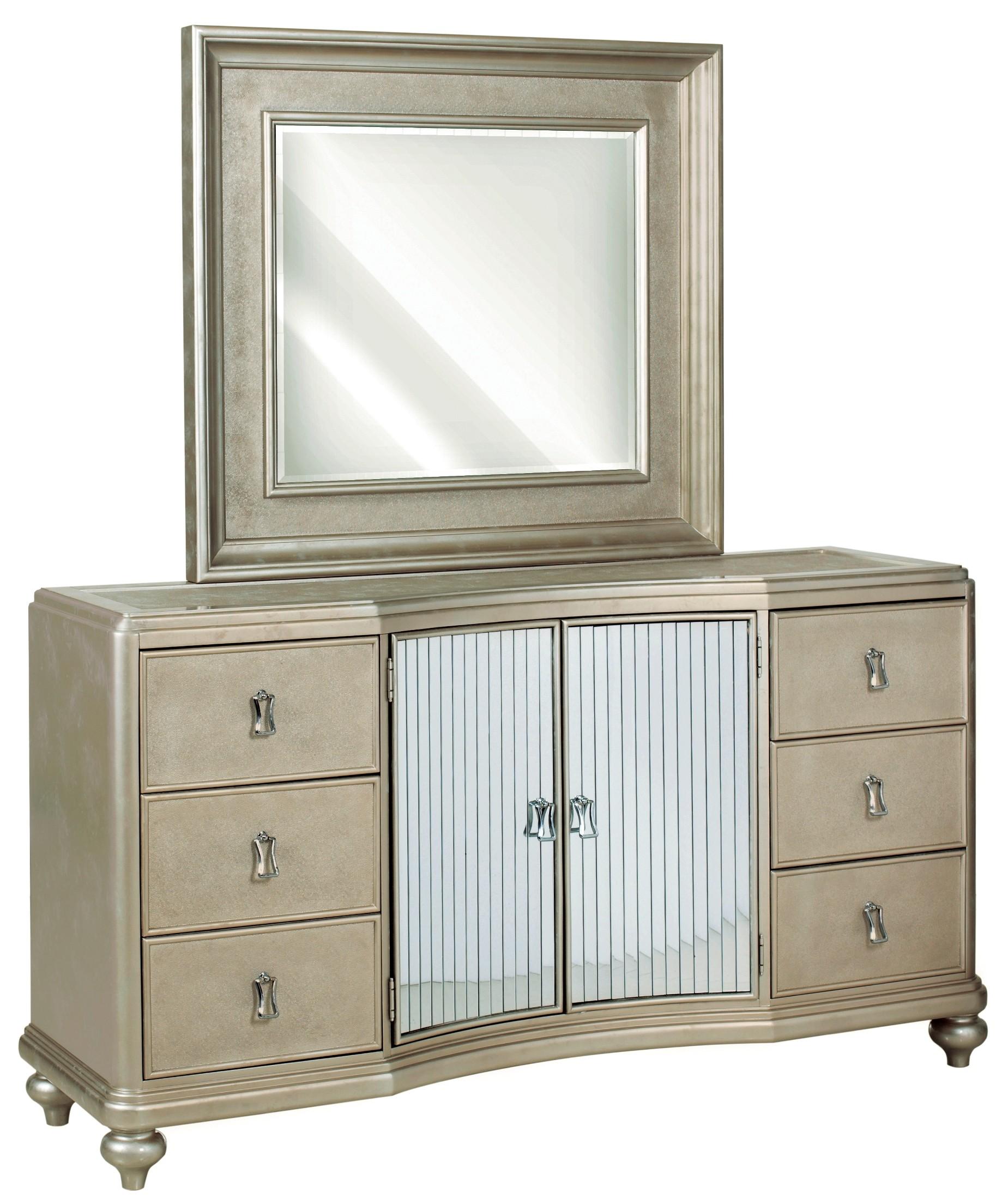 Platinum Platform Bedroom Set from Samuel Lawrence (8710-250-251 ...