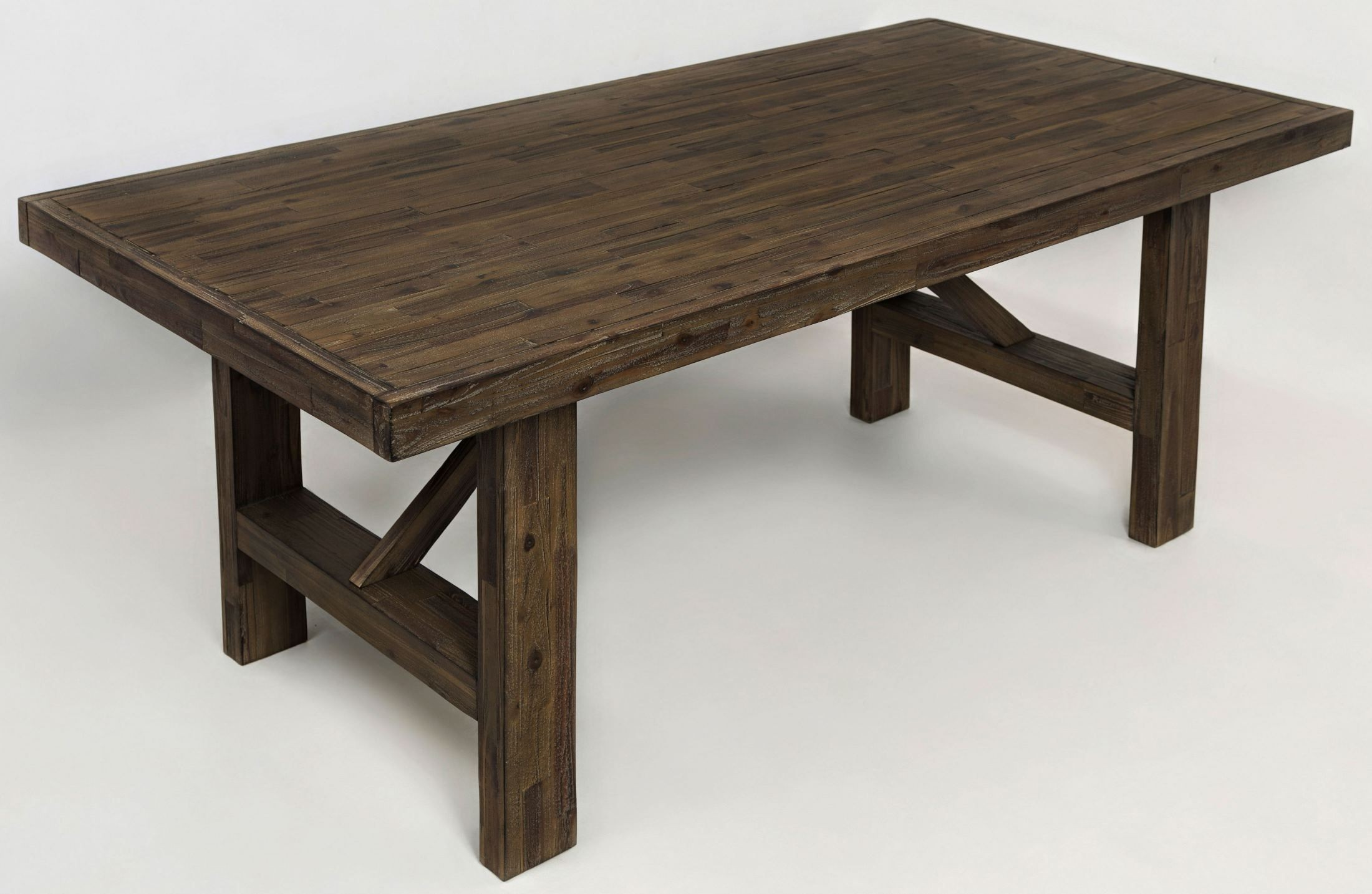 Hampton Road Trestle Dining Table from Jofran Coleman  : 872 79highangle from colemanfurniture.com size 2200 x 1434 jpeg 315kB