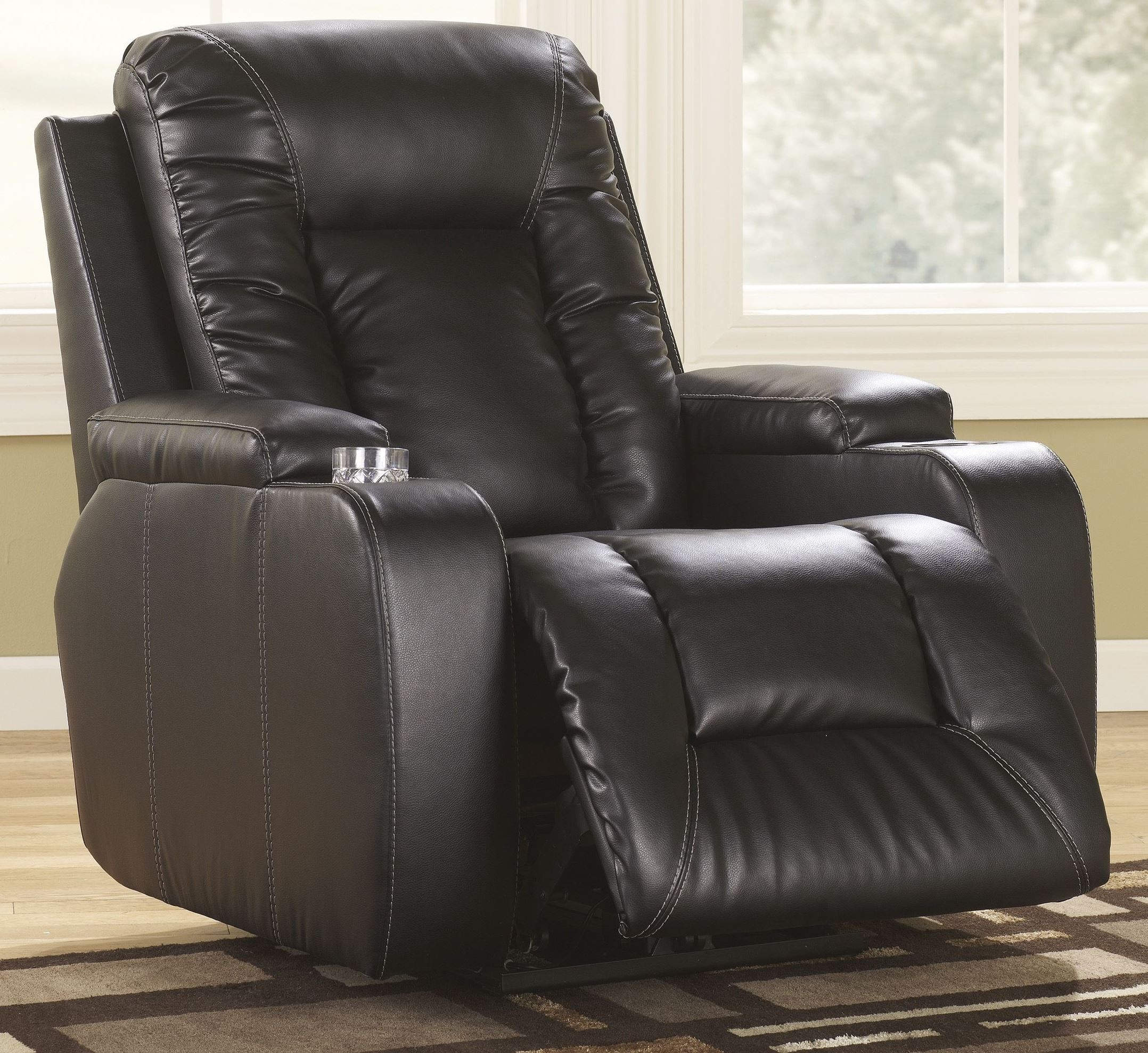 Ashley Furniture Arcadia: Matinee Durablend Home Theater Seating From Ashley