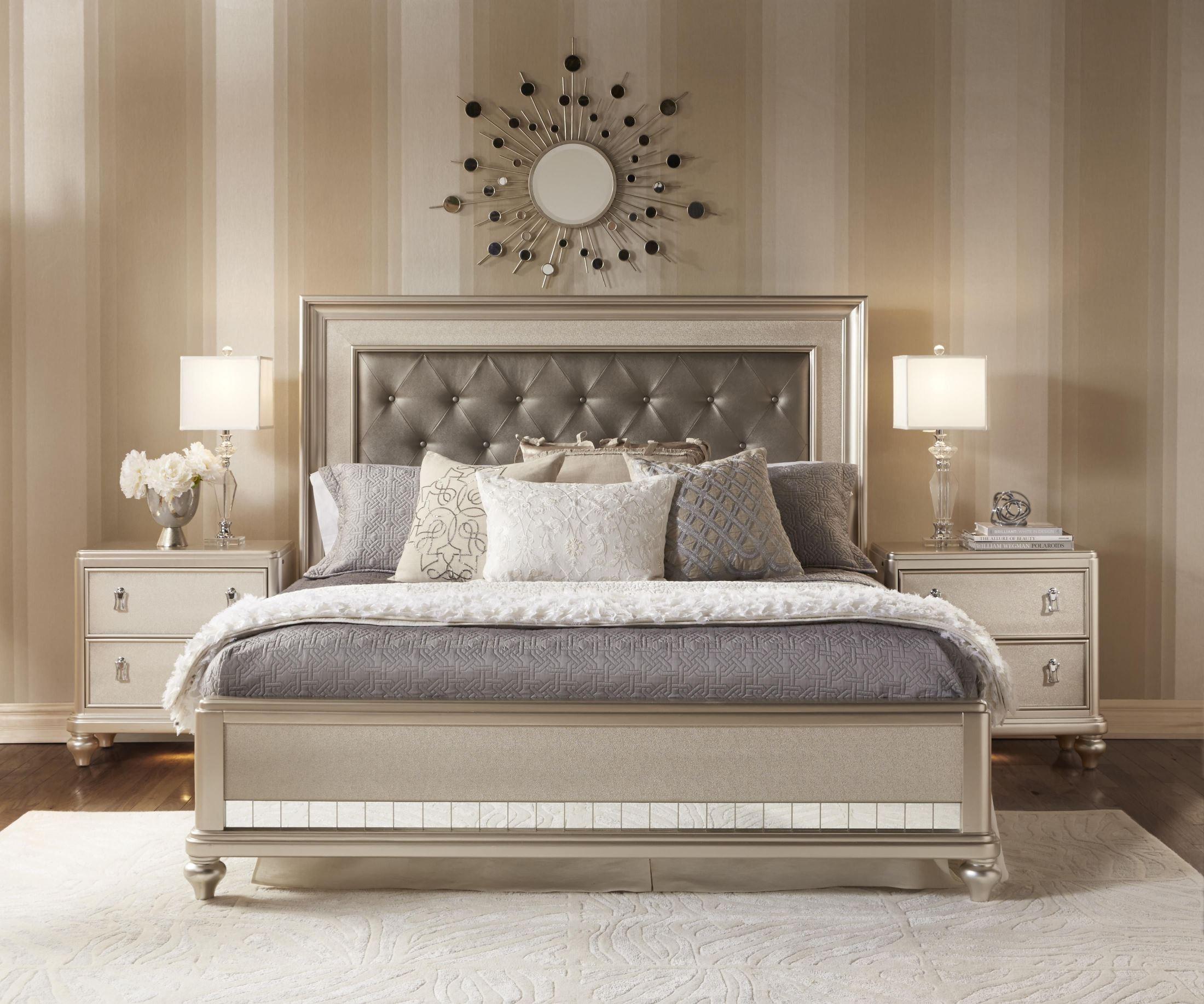 Diva Panel Bedroom Set From Samuel Lawrence 8808 255 257