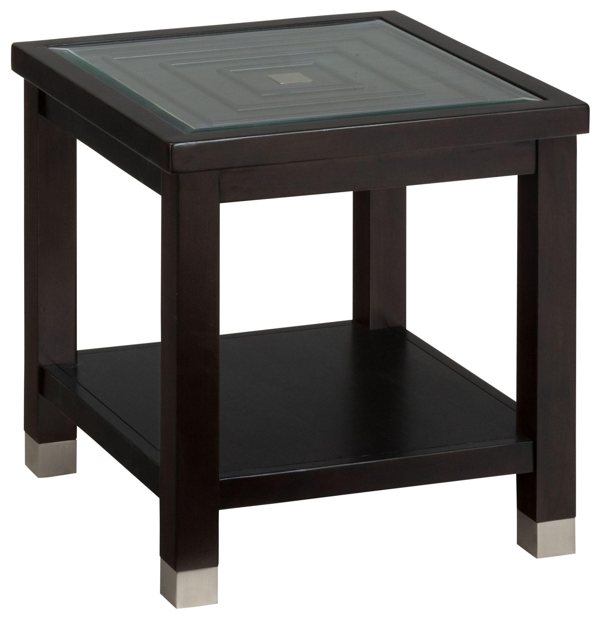 Warren end table from jofran coleman furniture for Table warren silex