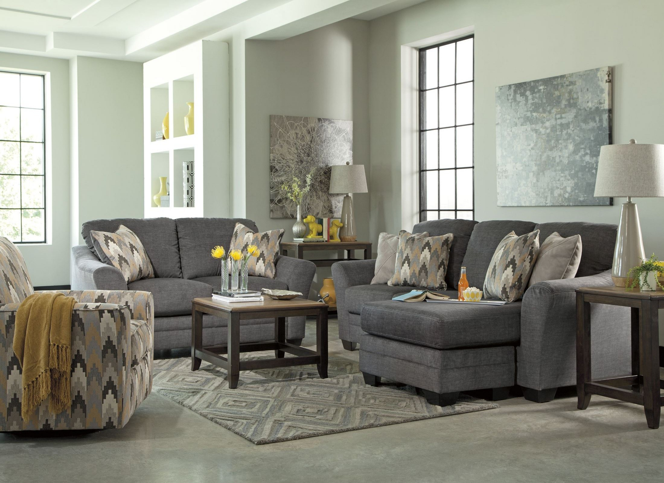 charcoal living room furniture braxlin charcoal living room set from 8850218 12794