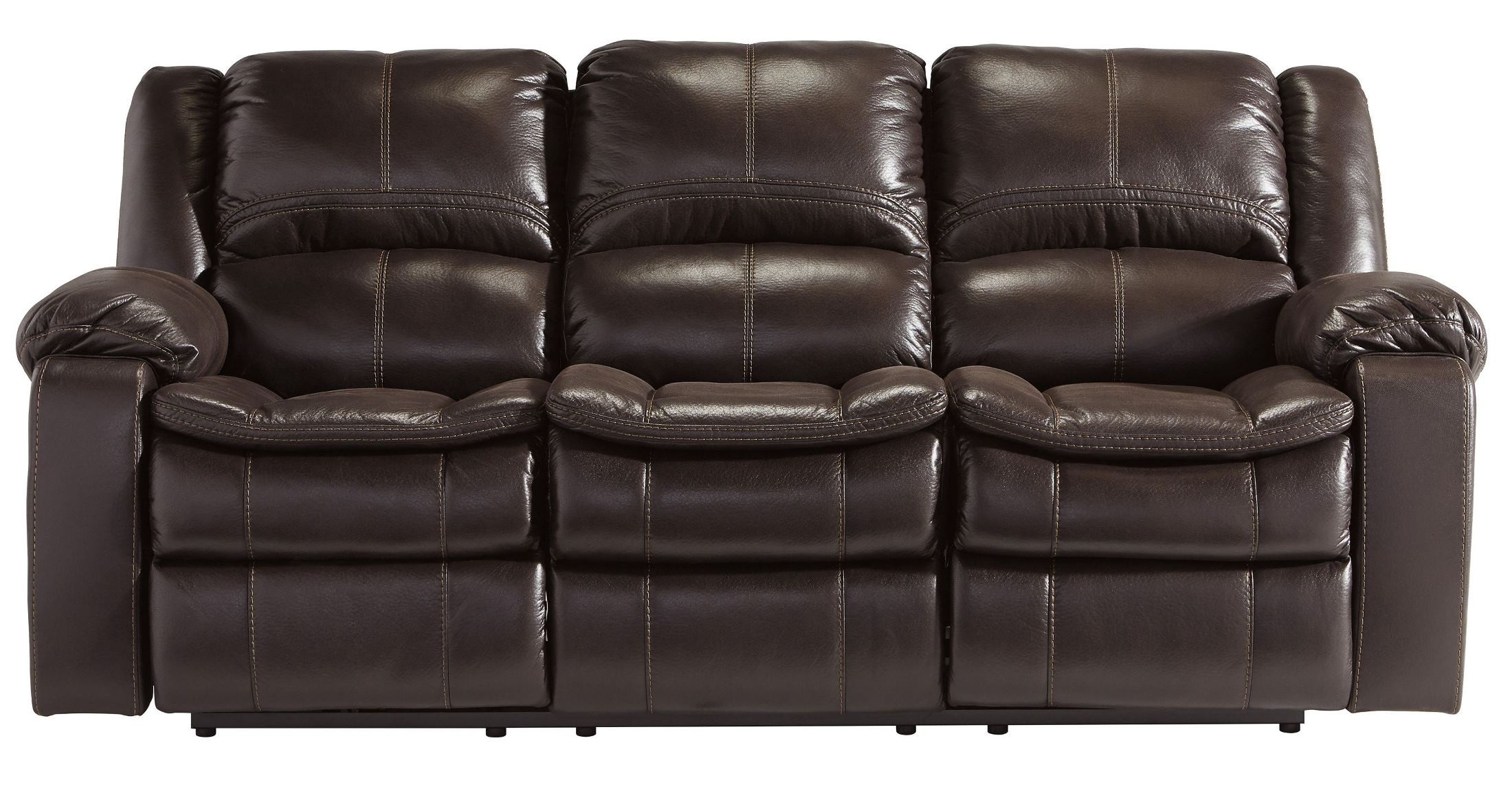 Long Knight Brown Reclining Sofa From Ashley 8890588