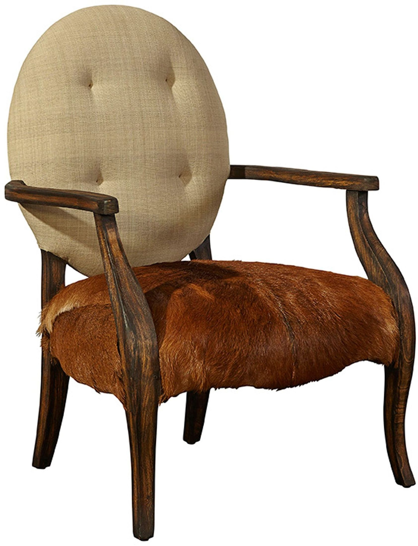 Denver Warm Wood Arm Chair From Furniture Classics