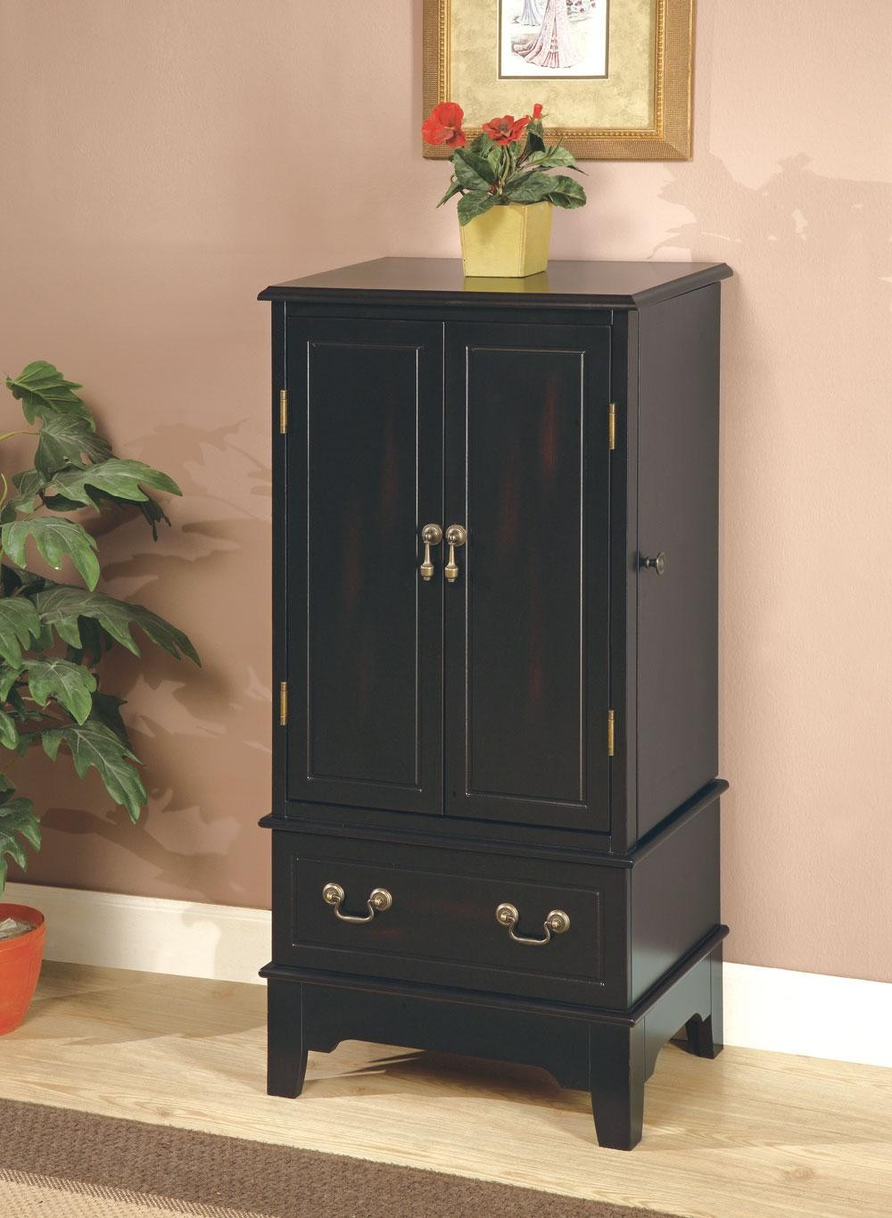 Black Jewelry Armoire 900095 From Coaster 900095