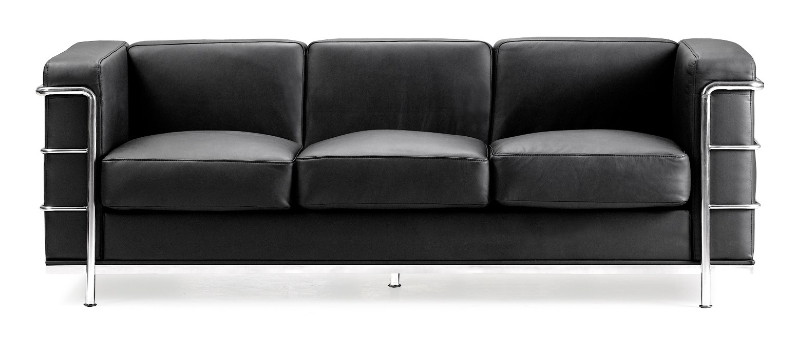 Fortress Black Sofa From Zuo Mod 900230 Coleman Furniture