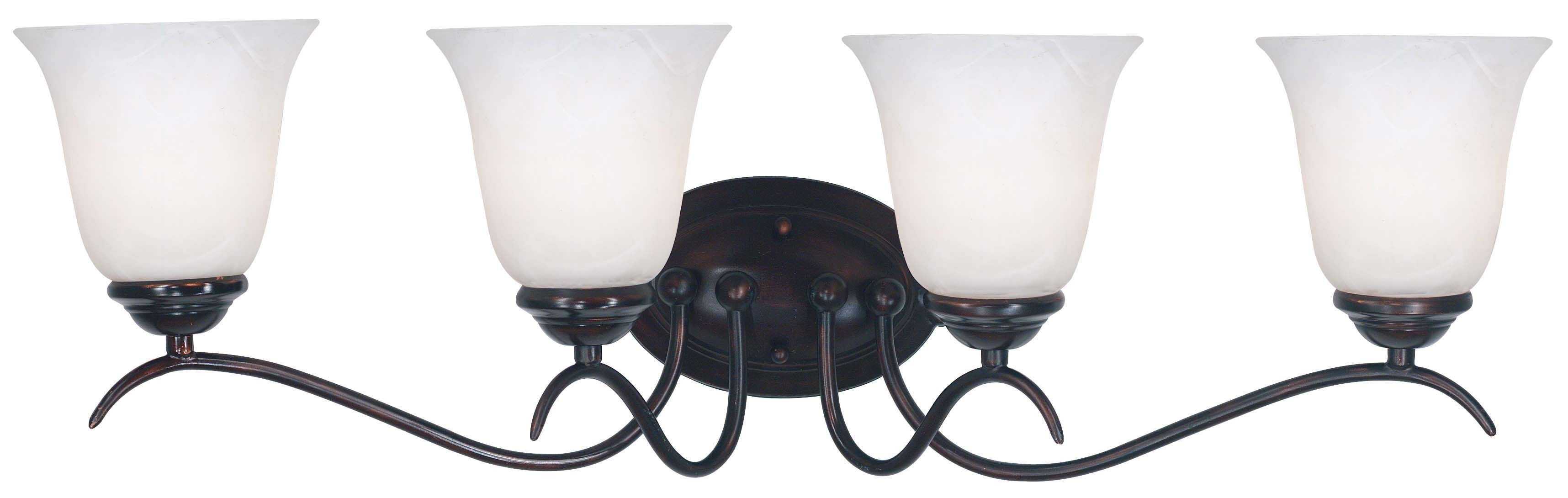 Oil Rubbed Bronze Chairs ~ Medusa oil rubbed bronze light vanity from kenroy