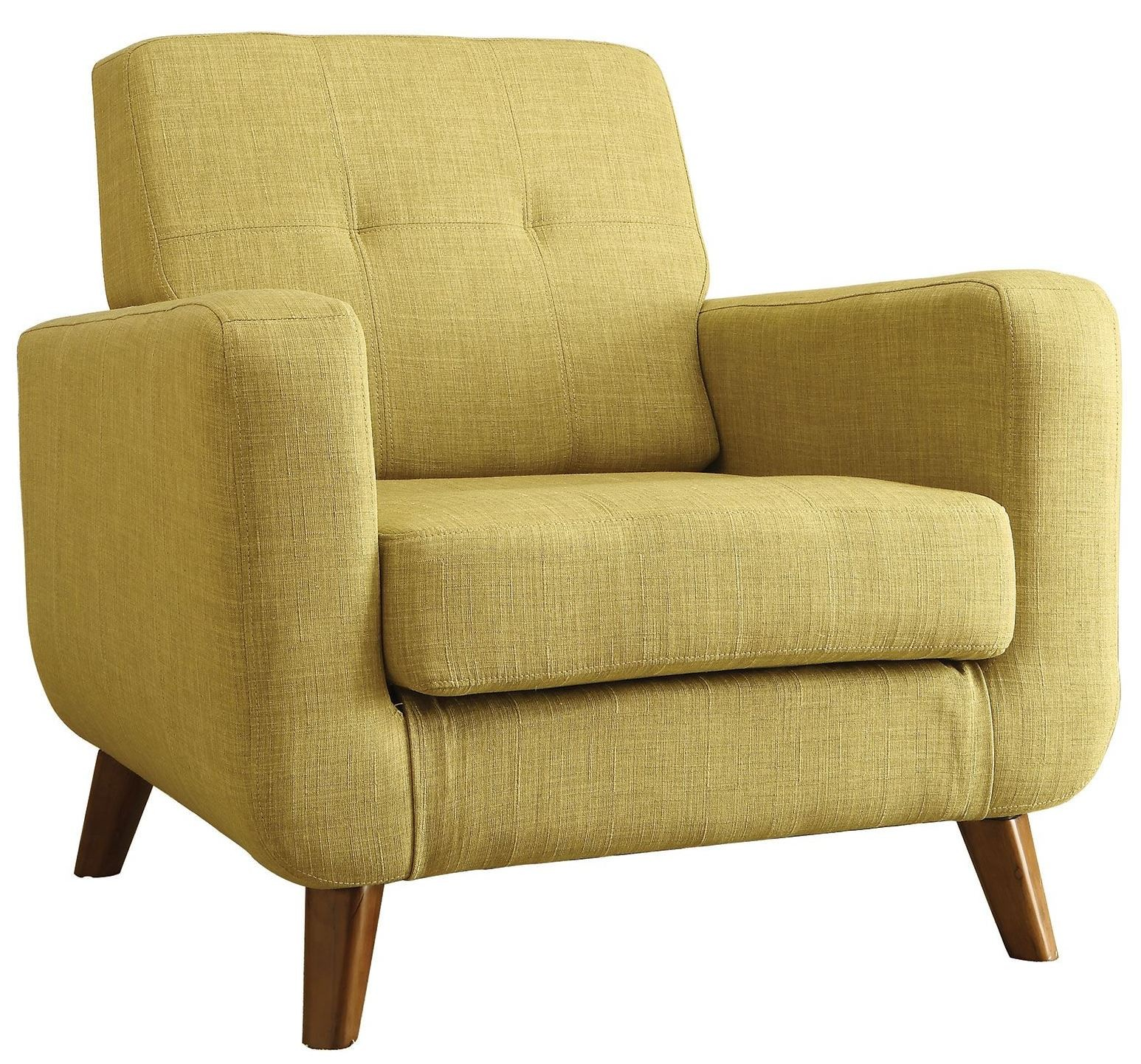 Green Accent Chair With Recliner: Green Accent Chair From Coaster (902482)
