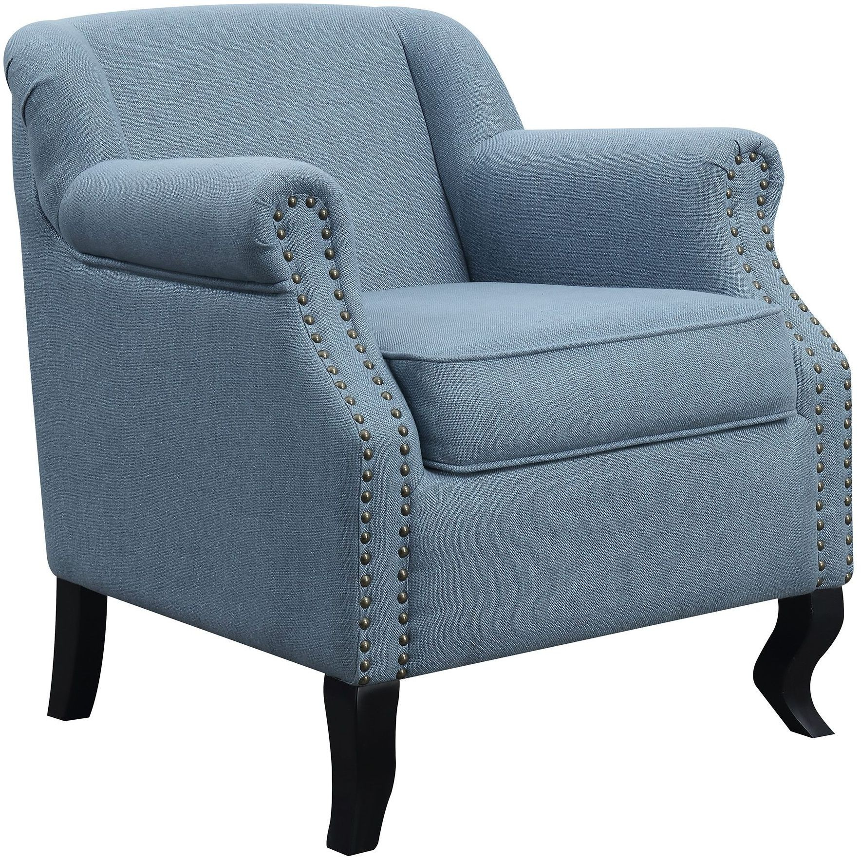 Light Blue Accent Chair From Coaster