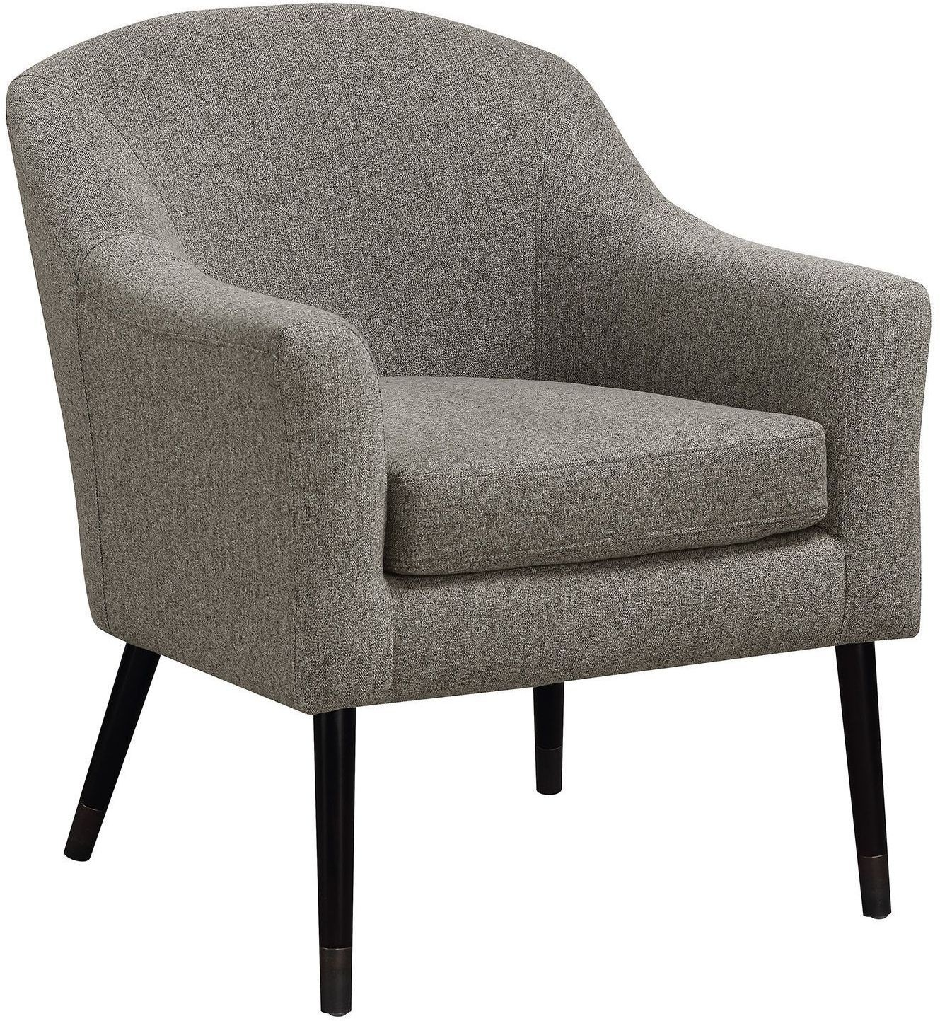 Gray And Black Accent Chair By Scott Living From Coaster