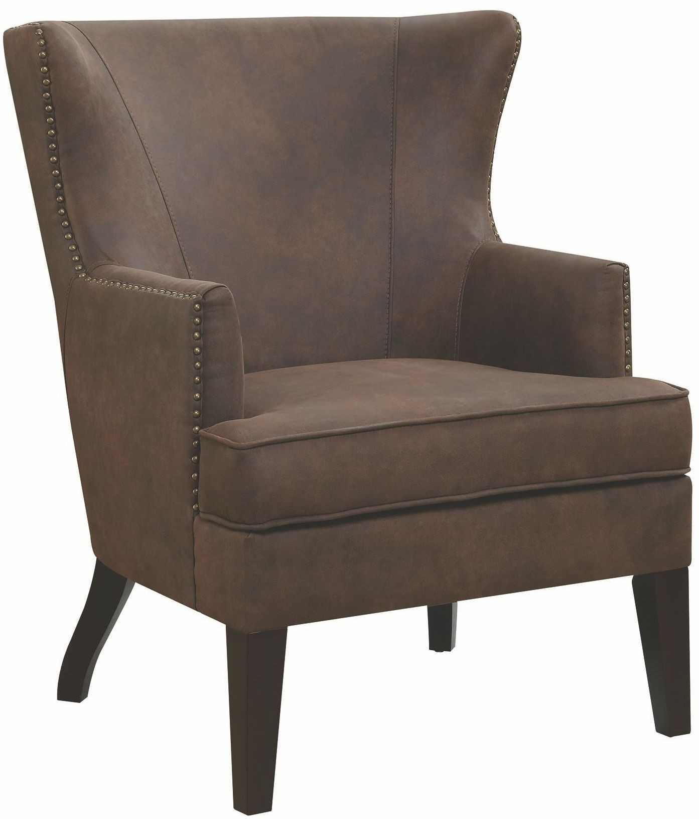 Brown Accent Chair: Brown Accent Chair, 903817, Coaster Furniture