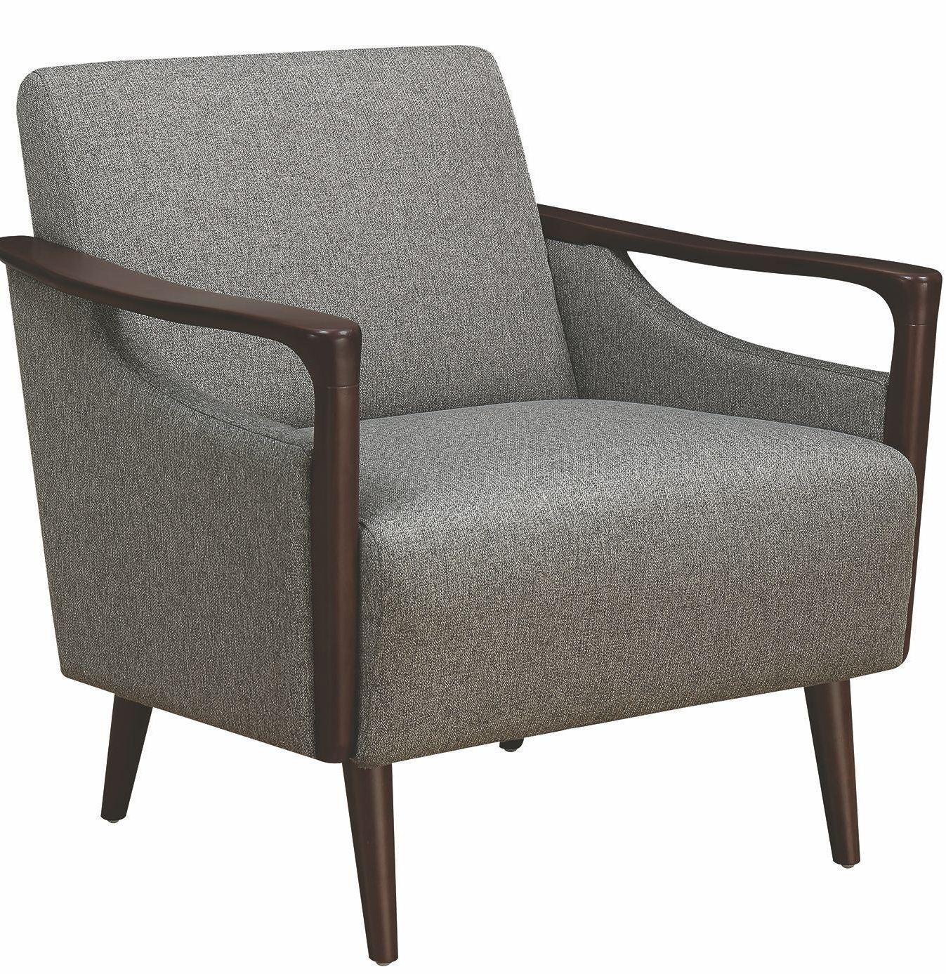 Scott Living Causal Grey Accent Chair: Gray Accent Chair By Scott Living From Coaster