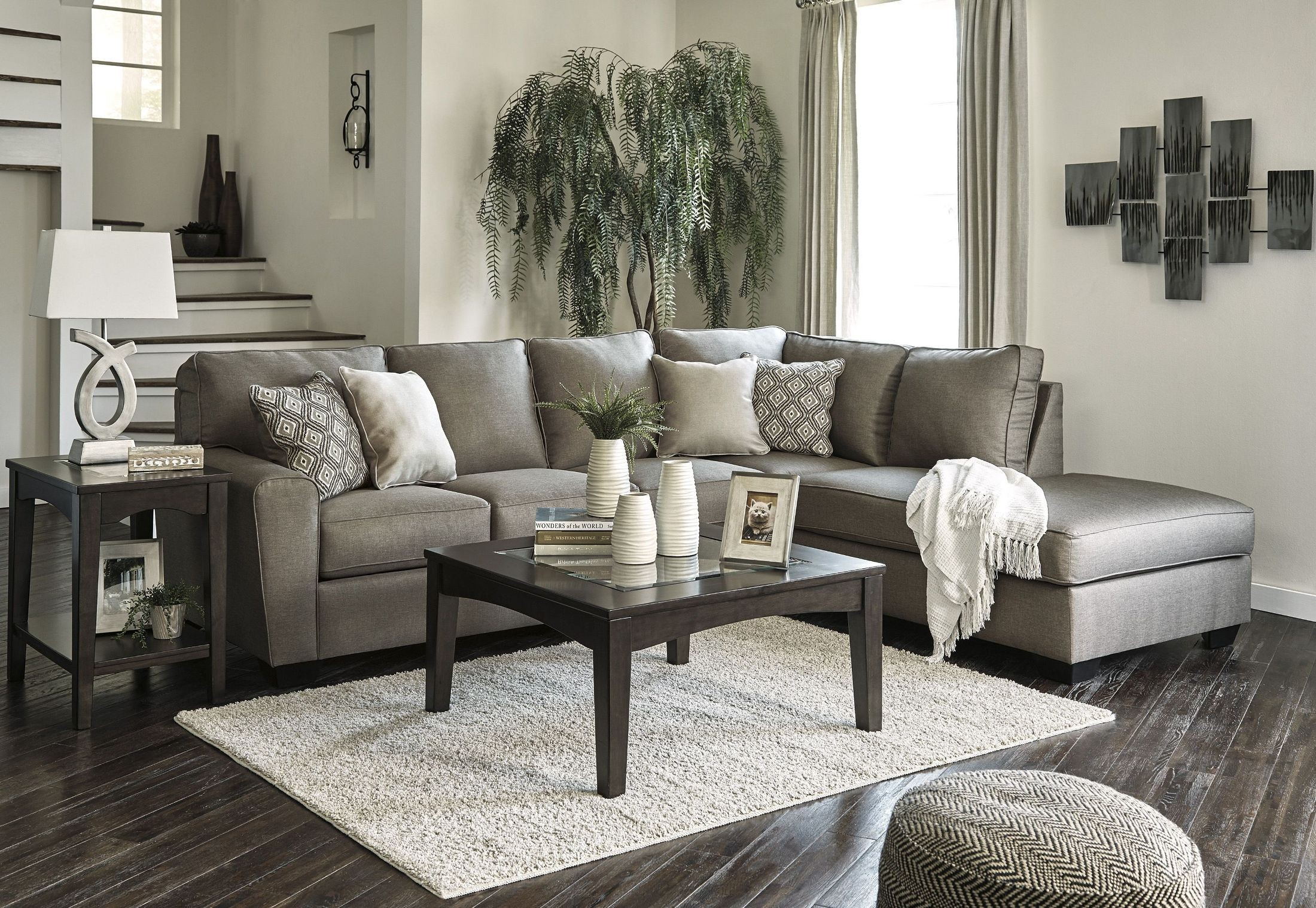 Calicho Cashmere Raf Sectional From Ashley Coleman Furniture