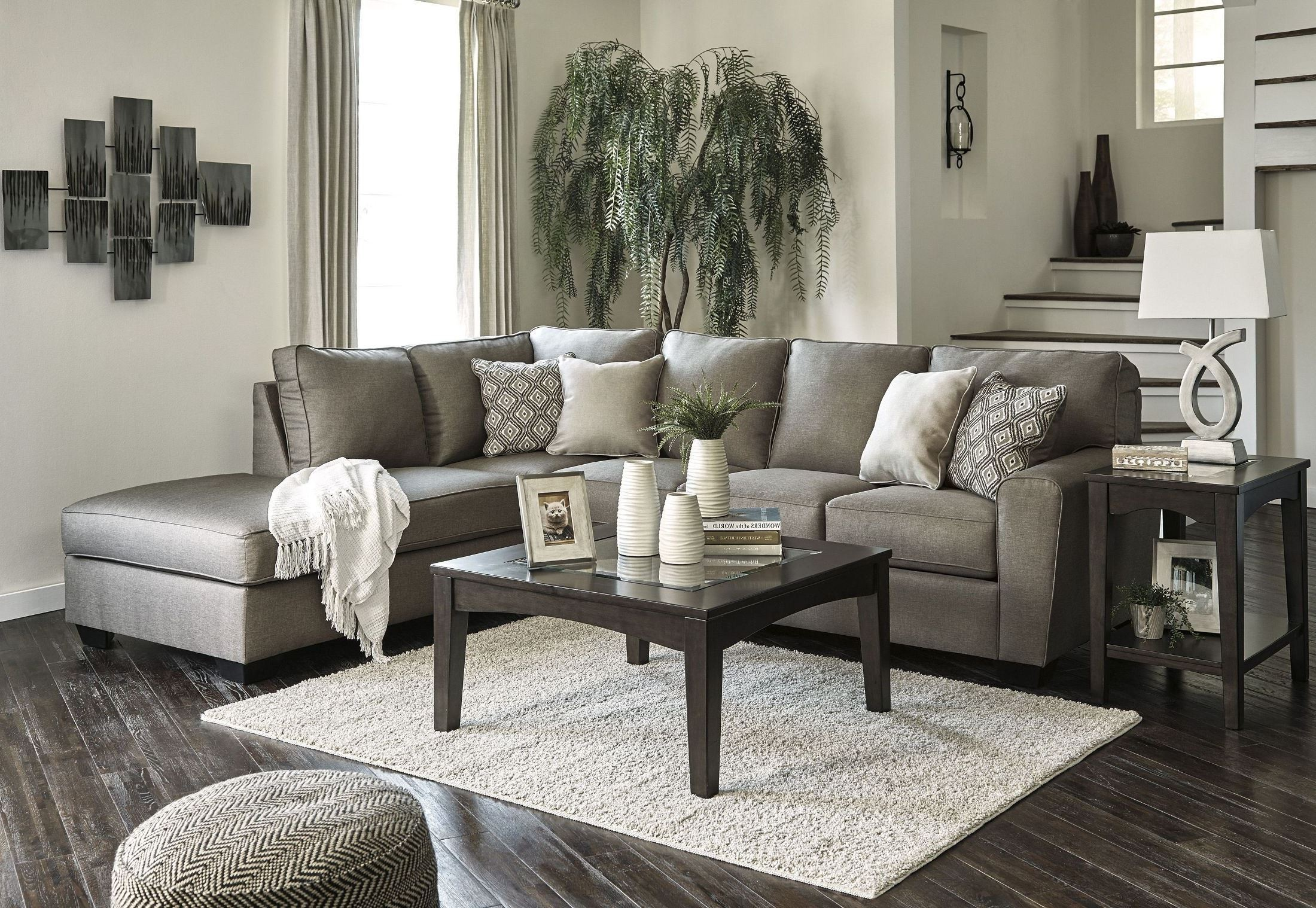 Calicho Cashmere Laf Sectional From Ashley Coleman Furniture