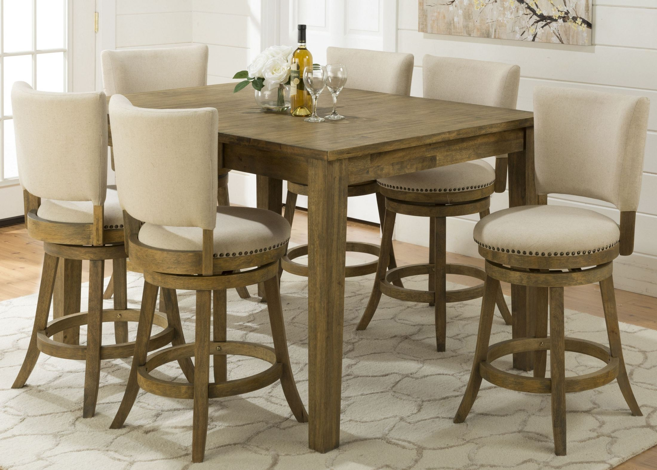 Turners Landing Extendable Counter Height Dining Table