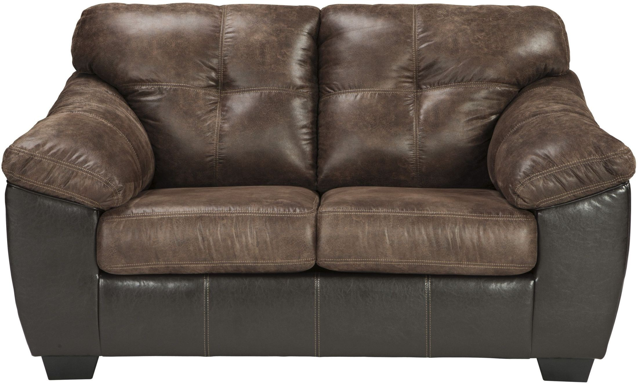 Gregale Coffee Loveseat From Ashley Coleman Furniture