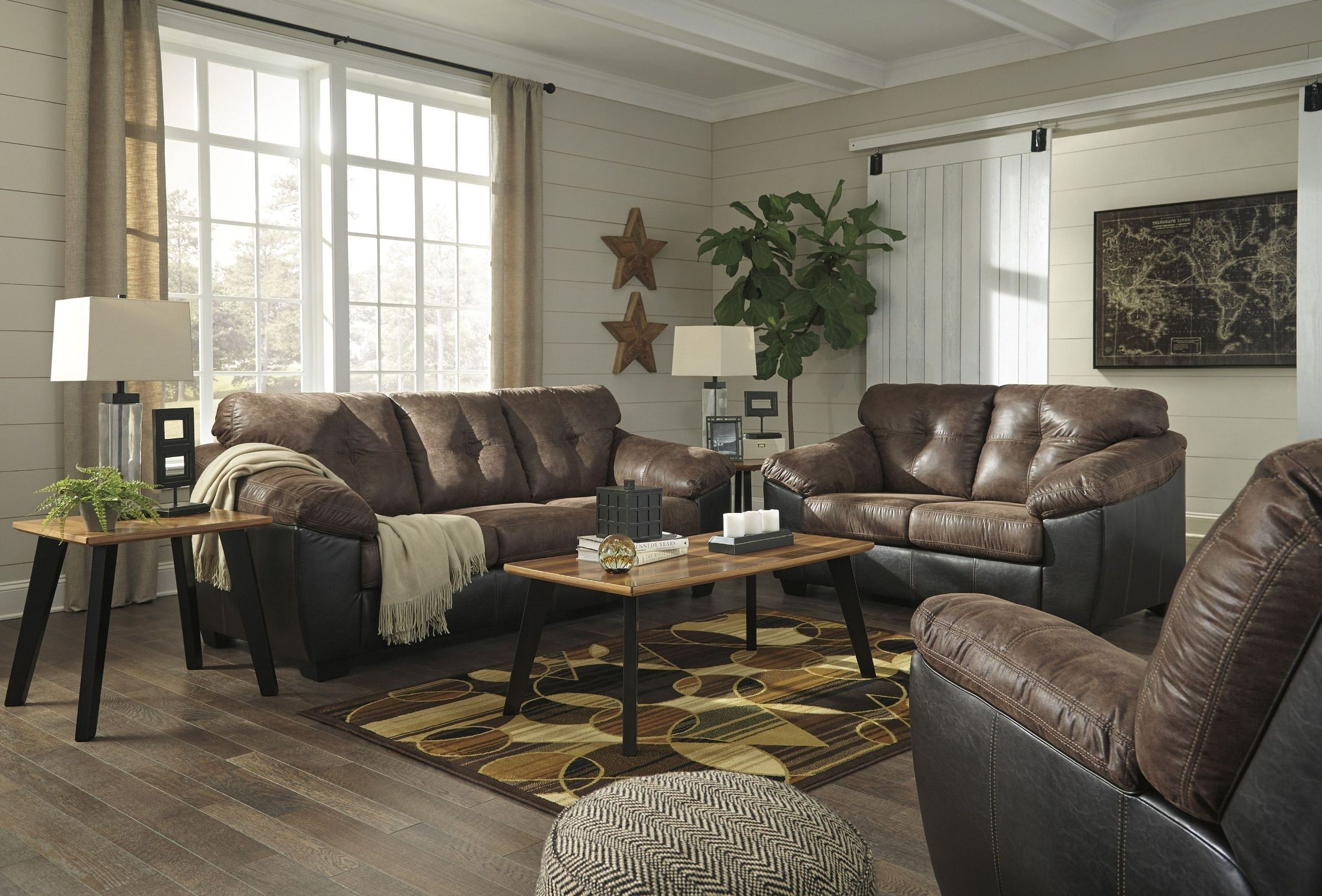 Gregale Coffee Living Room Set From Ashley Coleman Furniture