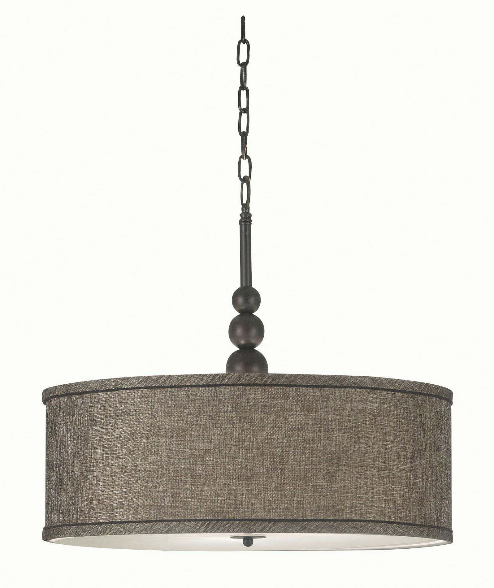 Oil Rubbed Bronze Chairs ~ Margot oil rubbed bronze light pendant from kenroy