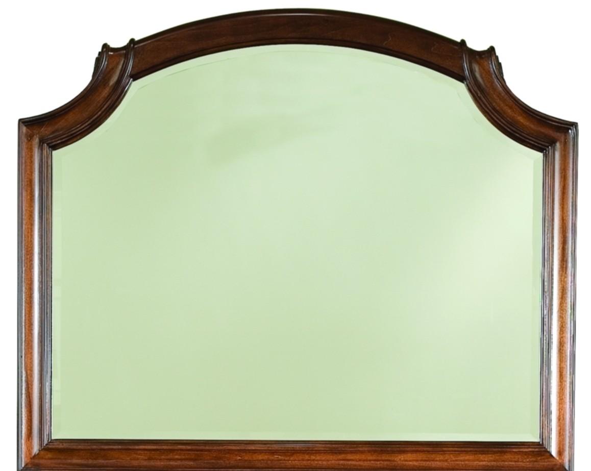 evolution scroll top bureau mirror from legacy classic 9180 0300 coleman furniture. Black Bedroom Furniture Sets. Home Design Ideas