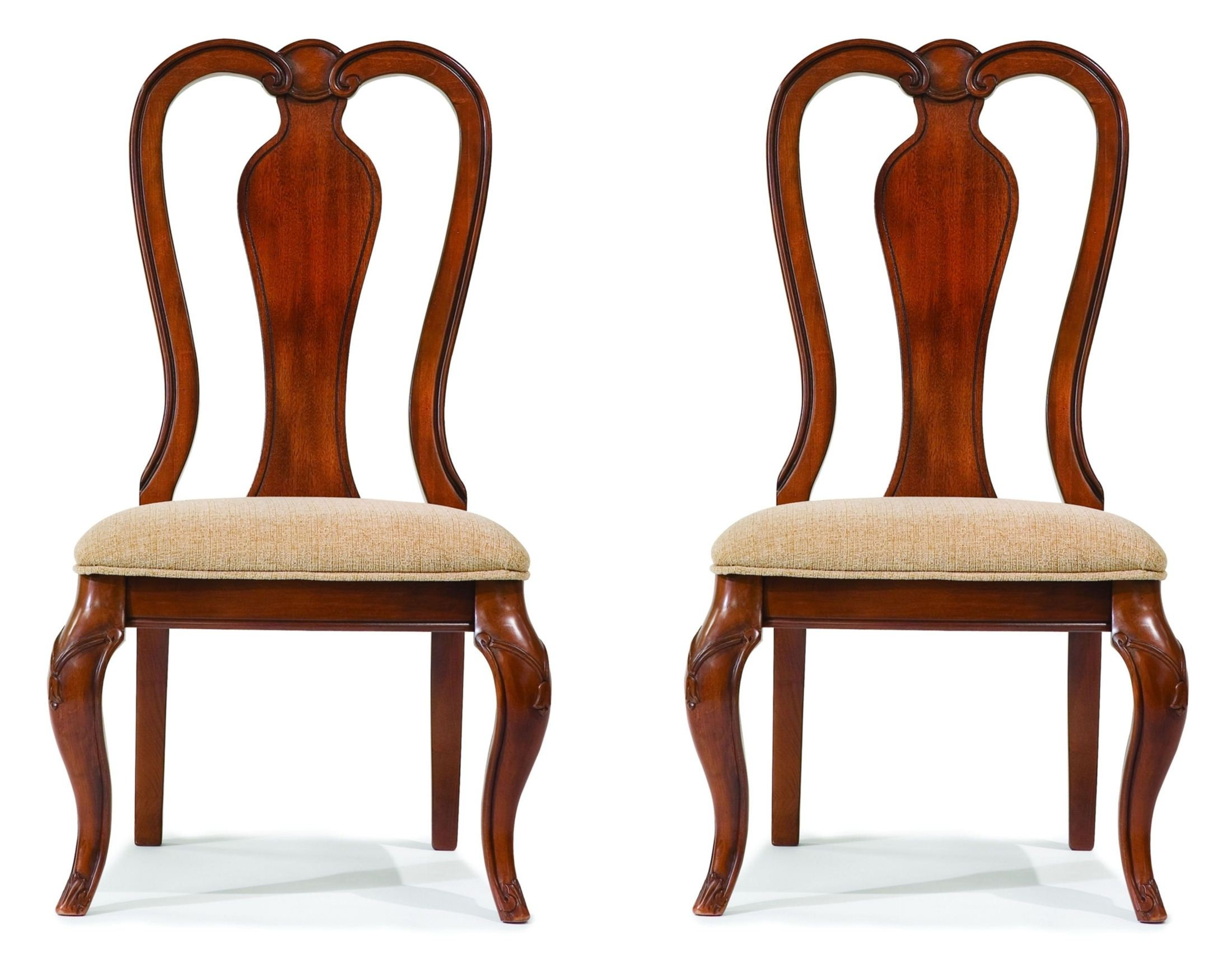 Perfect Evolution Queen Anne Side Chair Set of 2 from Legacy Classic (9180  UV39