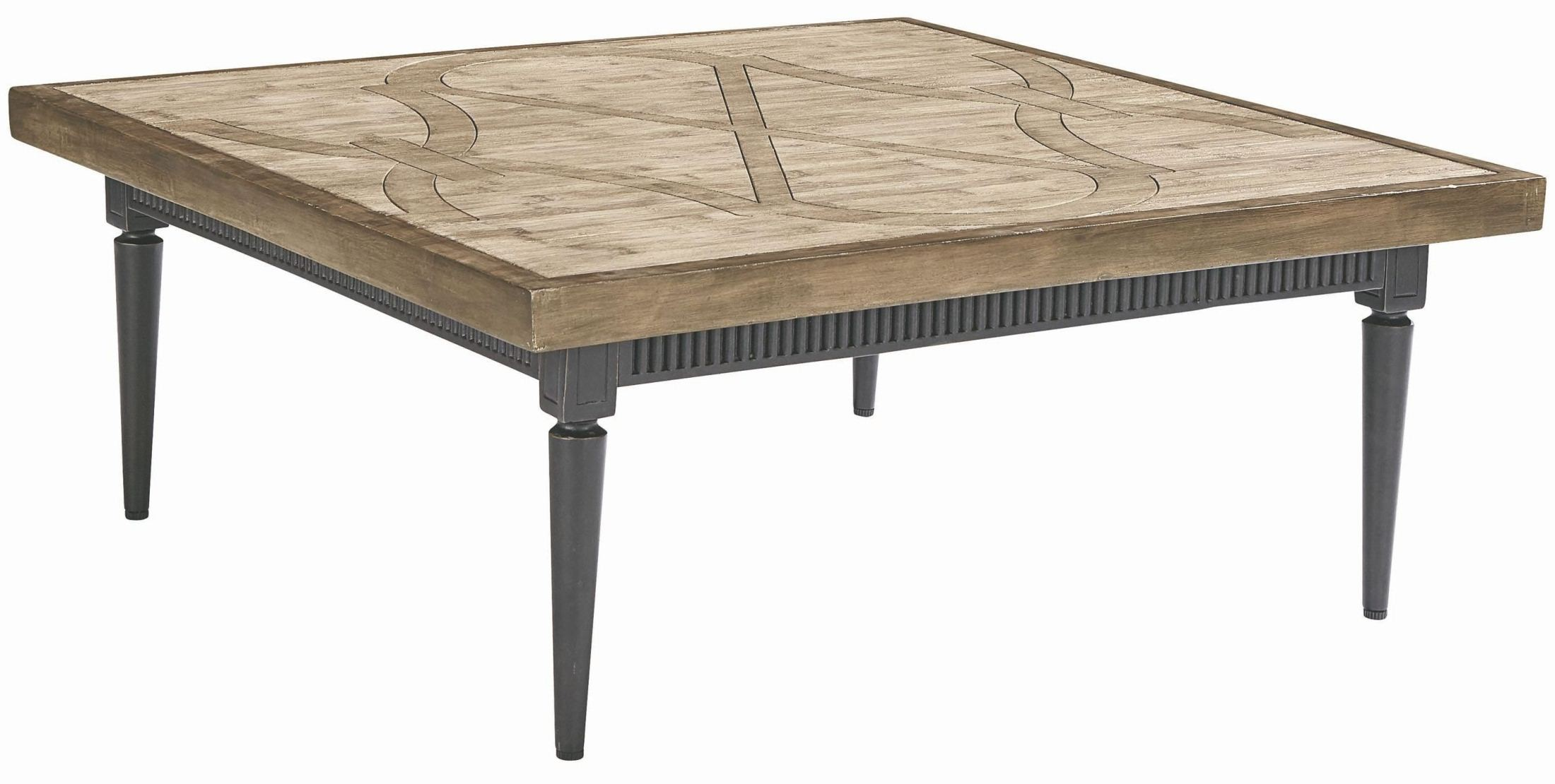 Morrissey leon charcoal square coffee table from art for Charcoal coffee table