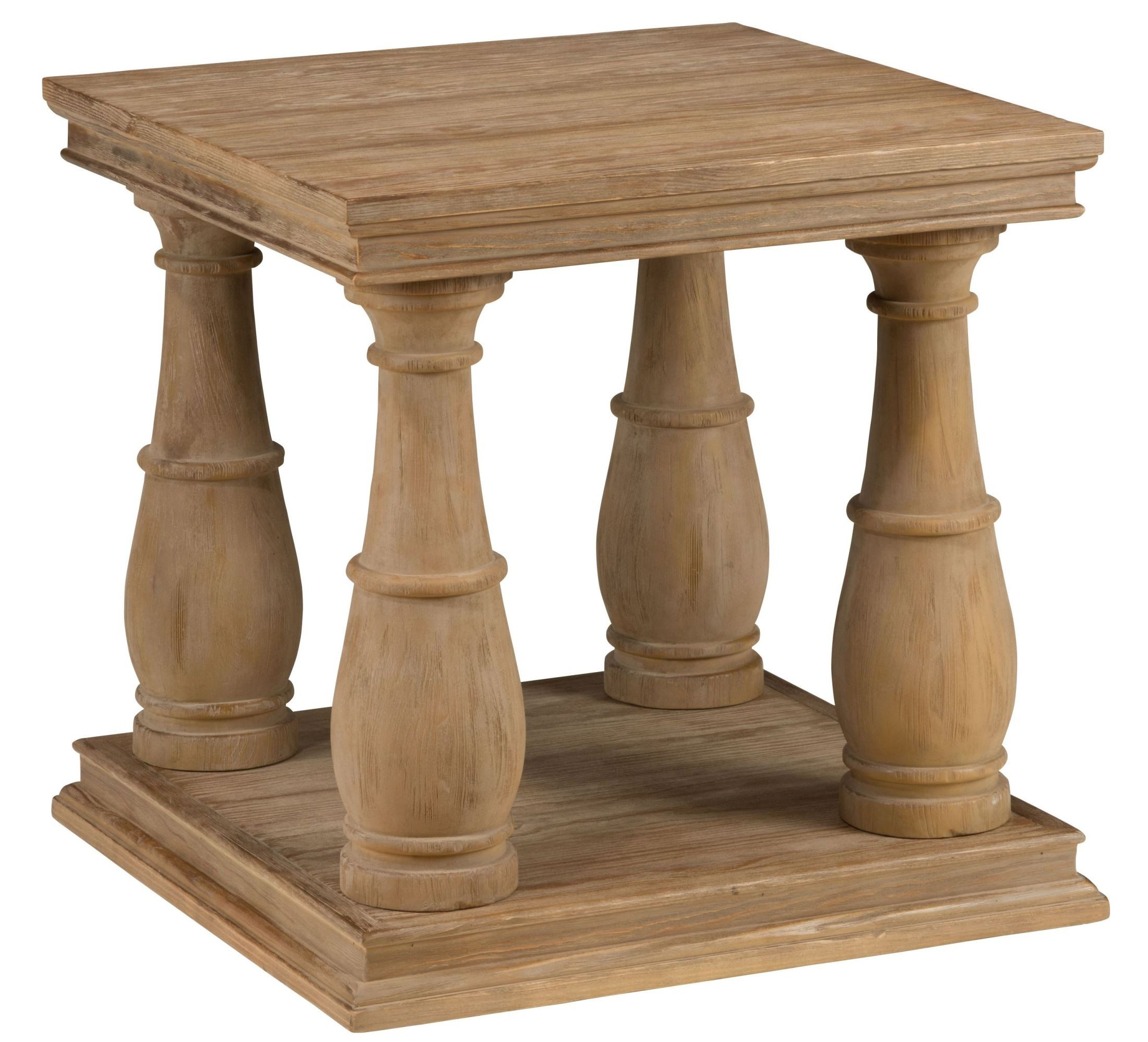 Driftwood End Table: Big Sur Driftwood Brown End Table From Jofran