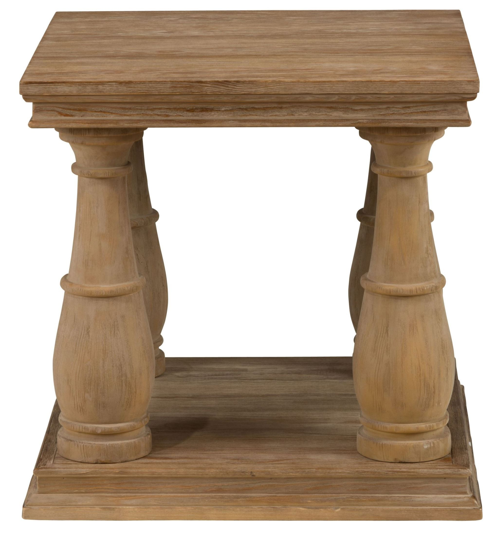 Driftwood End Table: Big Sur Driftwood Brown End Table, 919-3, Jofran